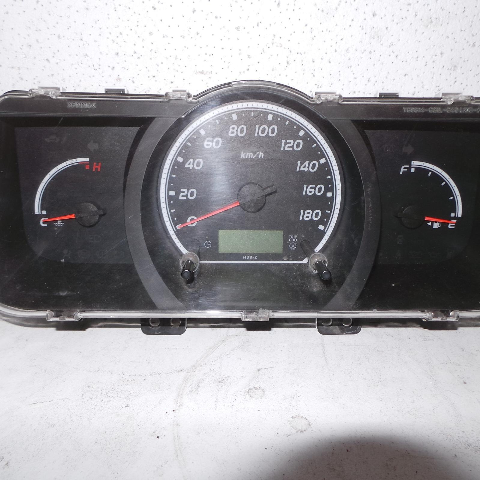 TOYOTA HIACE, Instrument Cluster, DIESEL, MANUAL T/M TYPE, KDH, 03/05-01/14