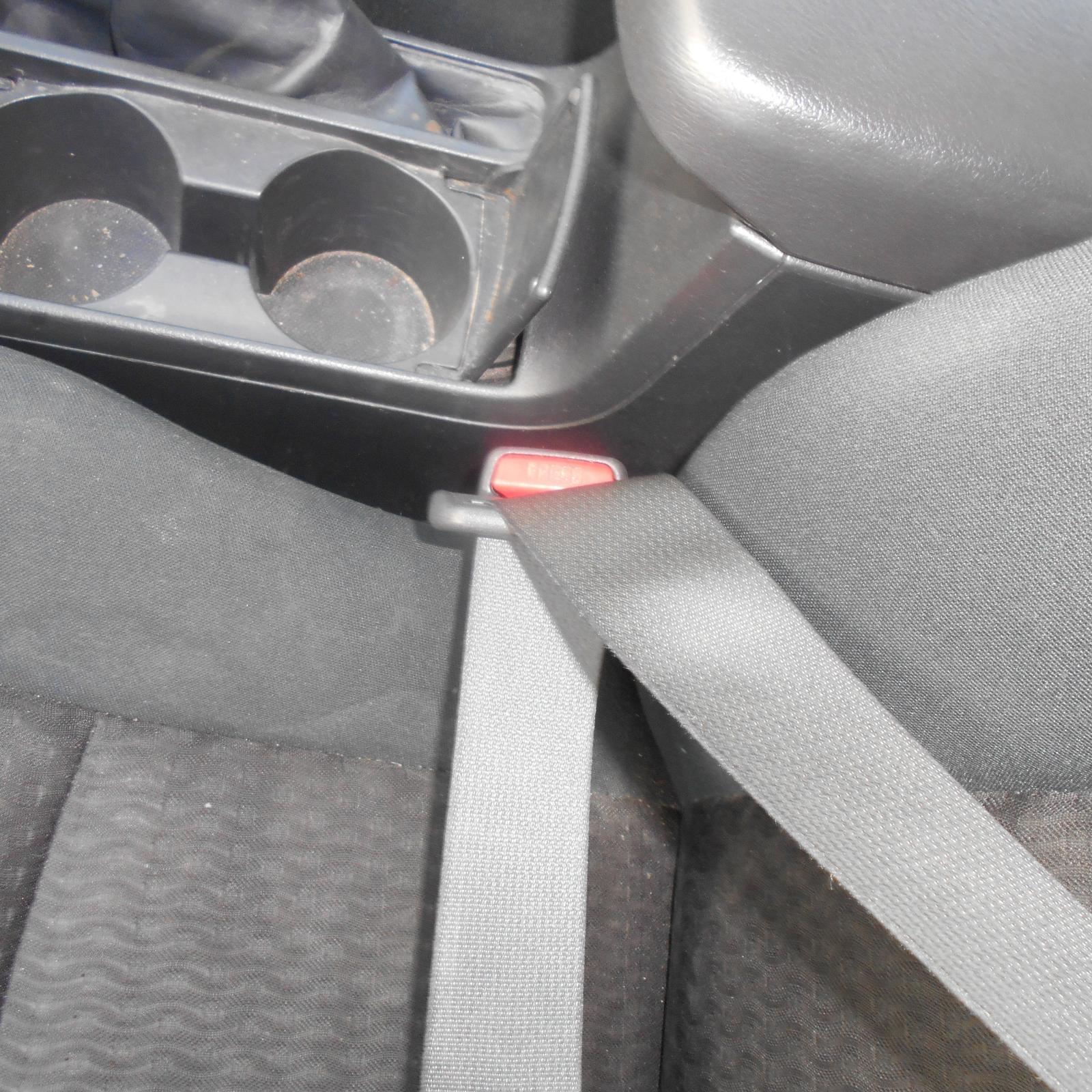 TOYOTA COROLLA, Seatbelt/Stalk, LH FRONT, SEAT BELT ONLY, ZRE152/153R, 03/07-10/13