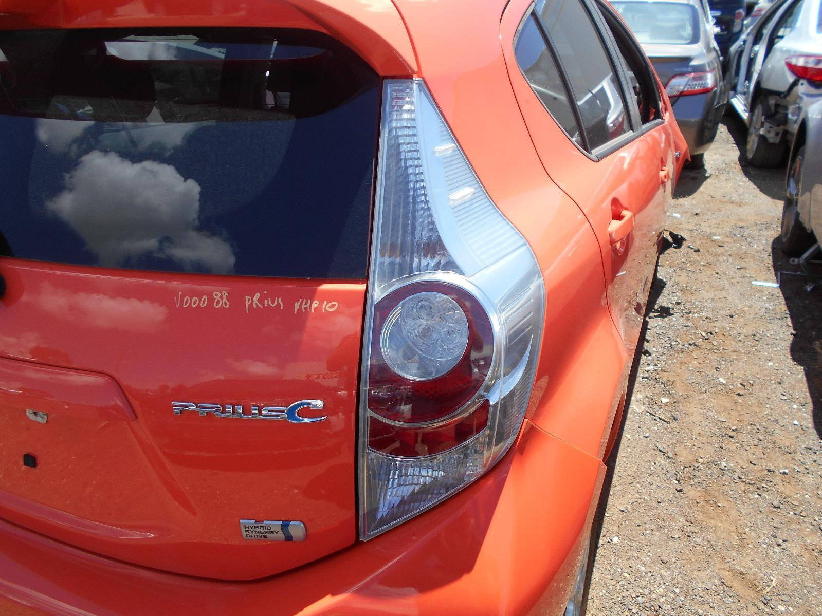 TOYOTA PRIUS, Right Taillight, NHP10R, 03/12-01/15