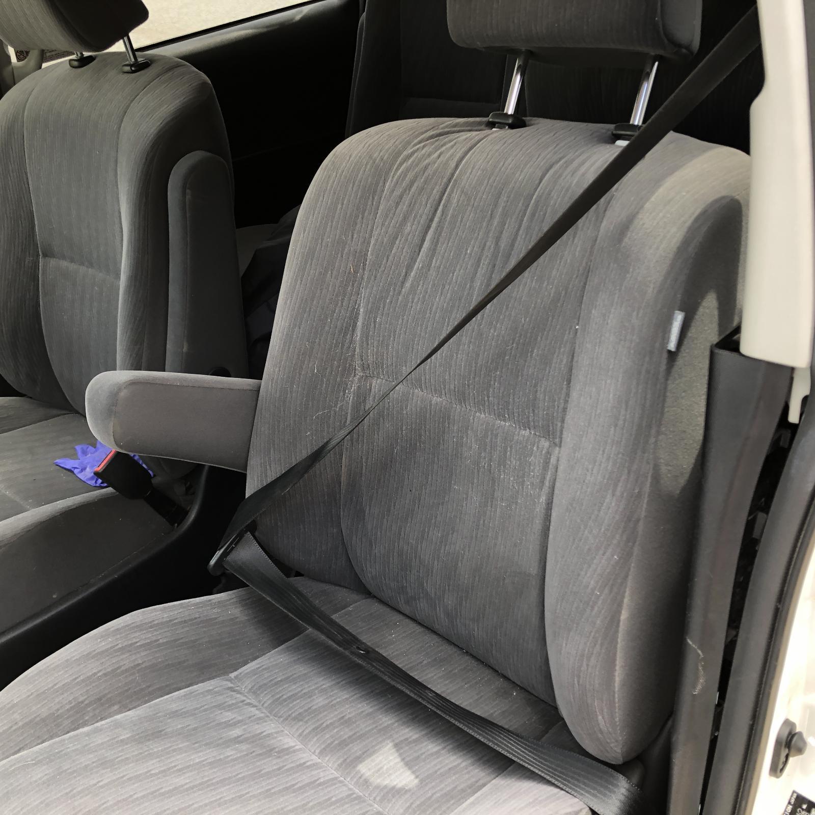 TOYOTA TARAGO, Front Seat, LH FRONT, CLOTH, DARK GREY, ACR50R, AIRBAG TYPE, 03/06-