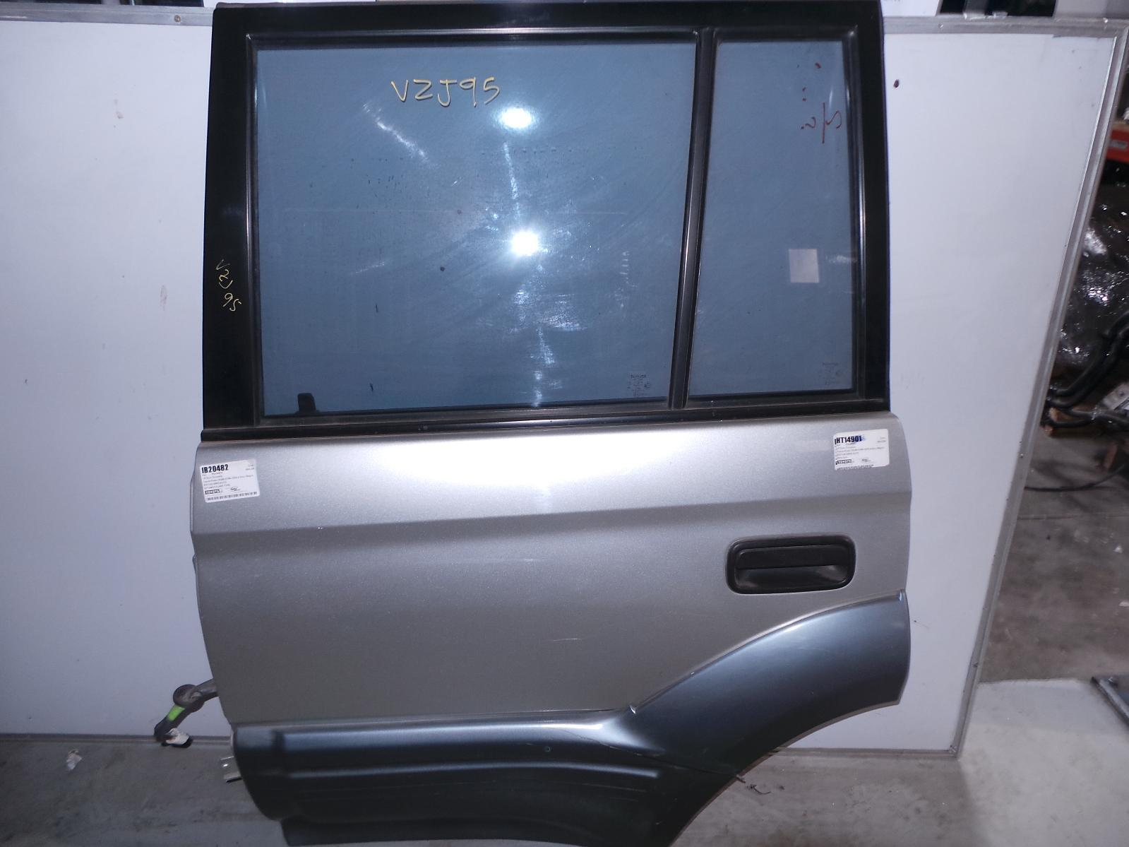 TOYOTA PRADO, Left Rear Door/Sliding, 95 SERIES, W/ MOULD TYPE, 07/96-01/03