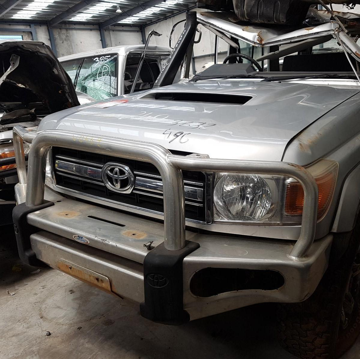 TOYOTA LANDCRUISER, Bonnet, 76/78/79 SERIES (UPDATE), 03/07-09/16