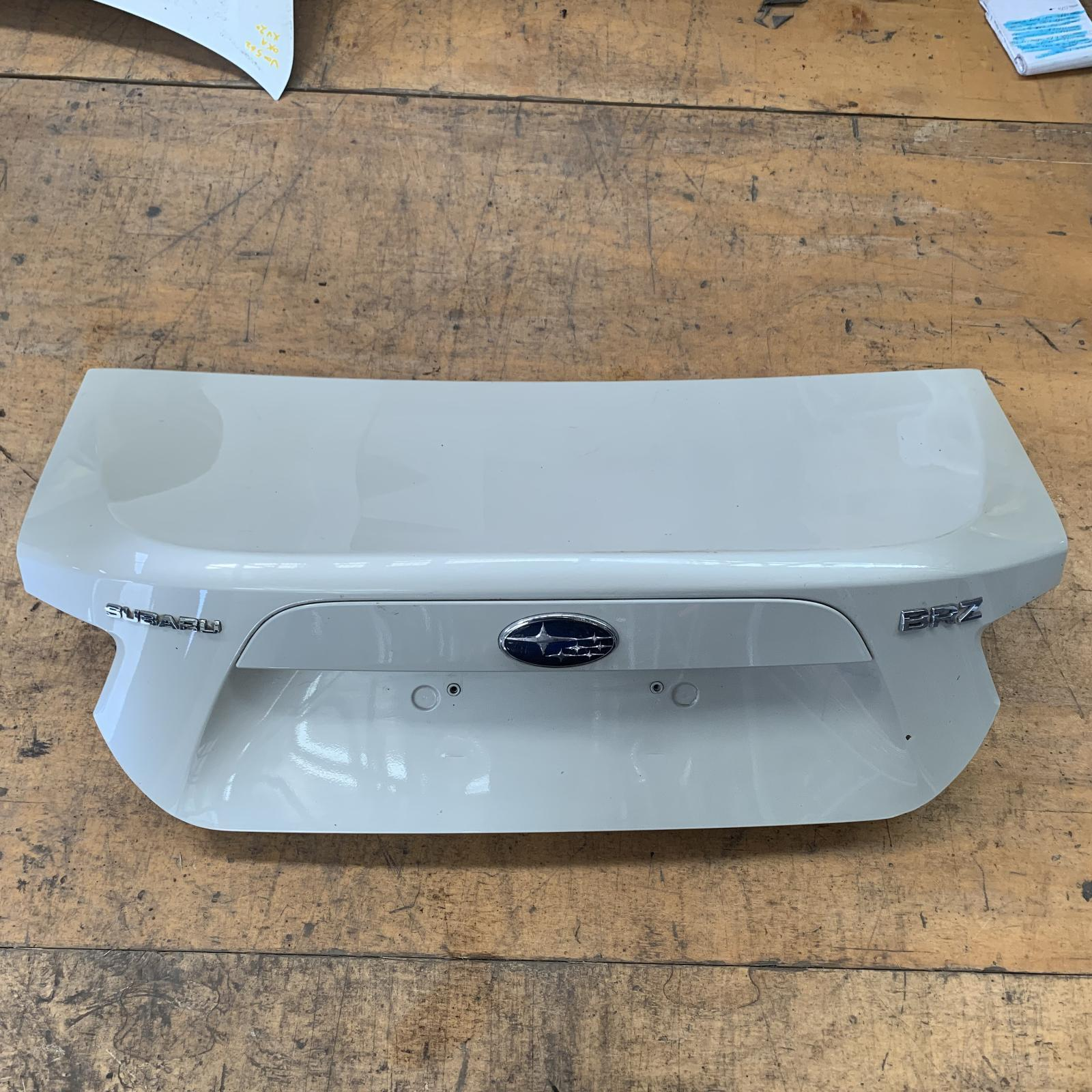 TOYOTA 86, Bootlid/Tailgate, BOOTLID, ZN6, GT/GTS, NON SPOILER TYPE, 04/12-