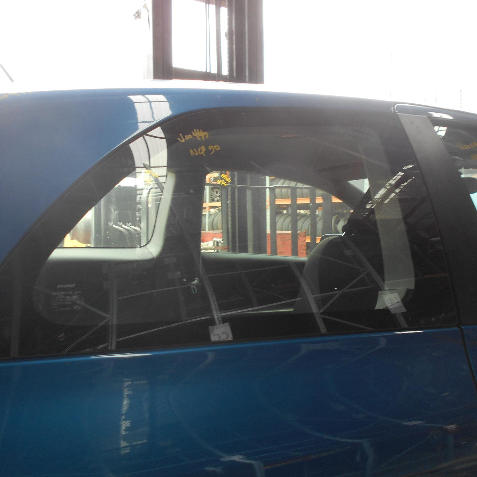 TOYOTA YARIS, Right Rear Side Glass, NCP9#, 3DR HATCH, 10/05-10/11