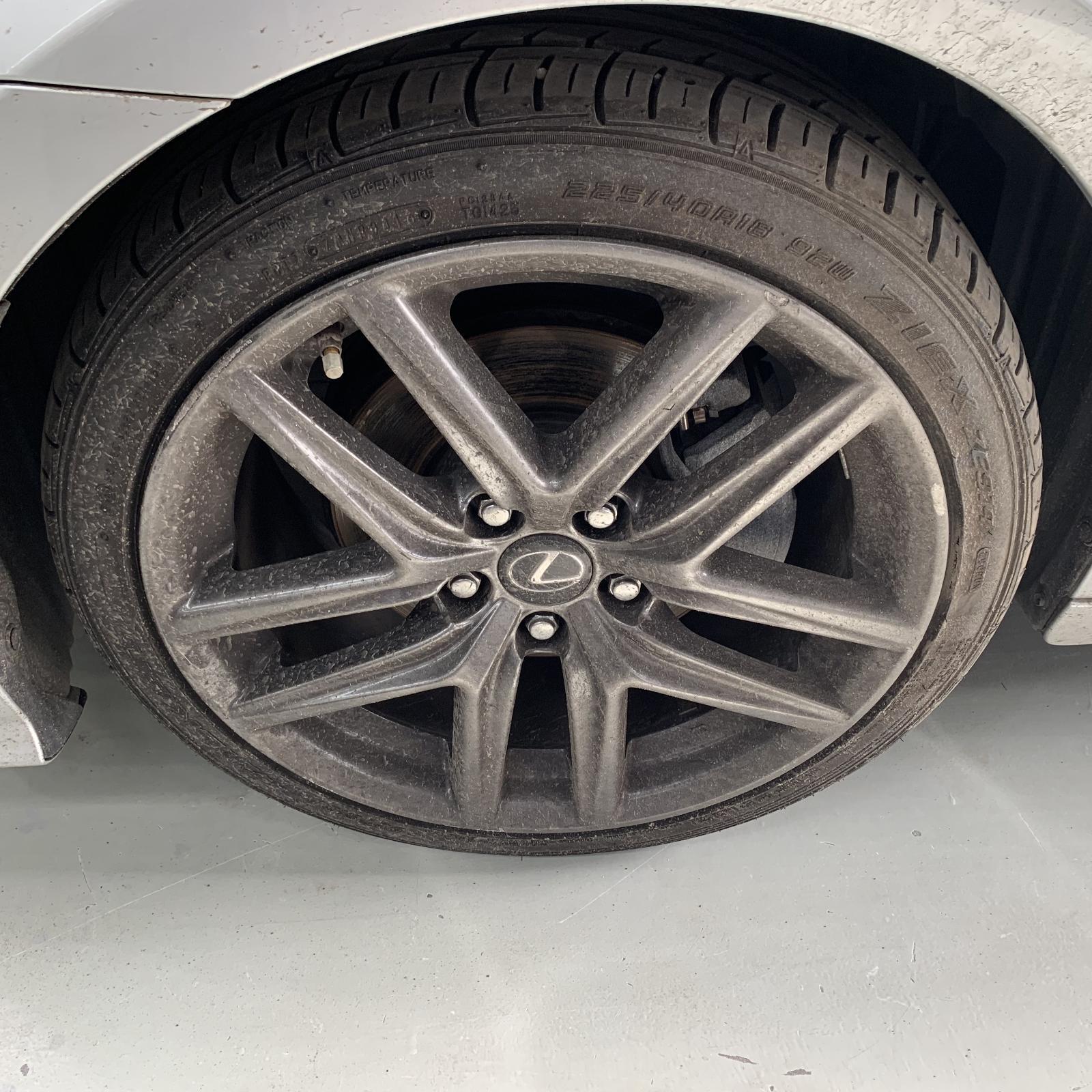 LEXUS IS, Wheel Mag, IS200t/IS250/IS300H/IS350, FACTORY, 18X8IN-FRONT, XE30, SPORTS LUXURY/F SPORT, 04/13-