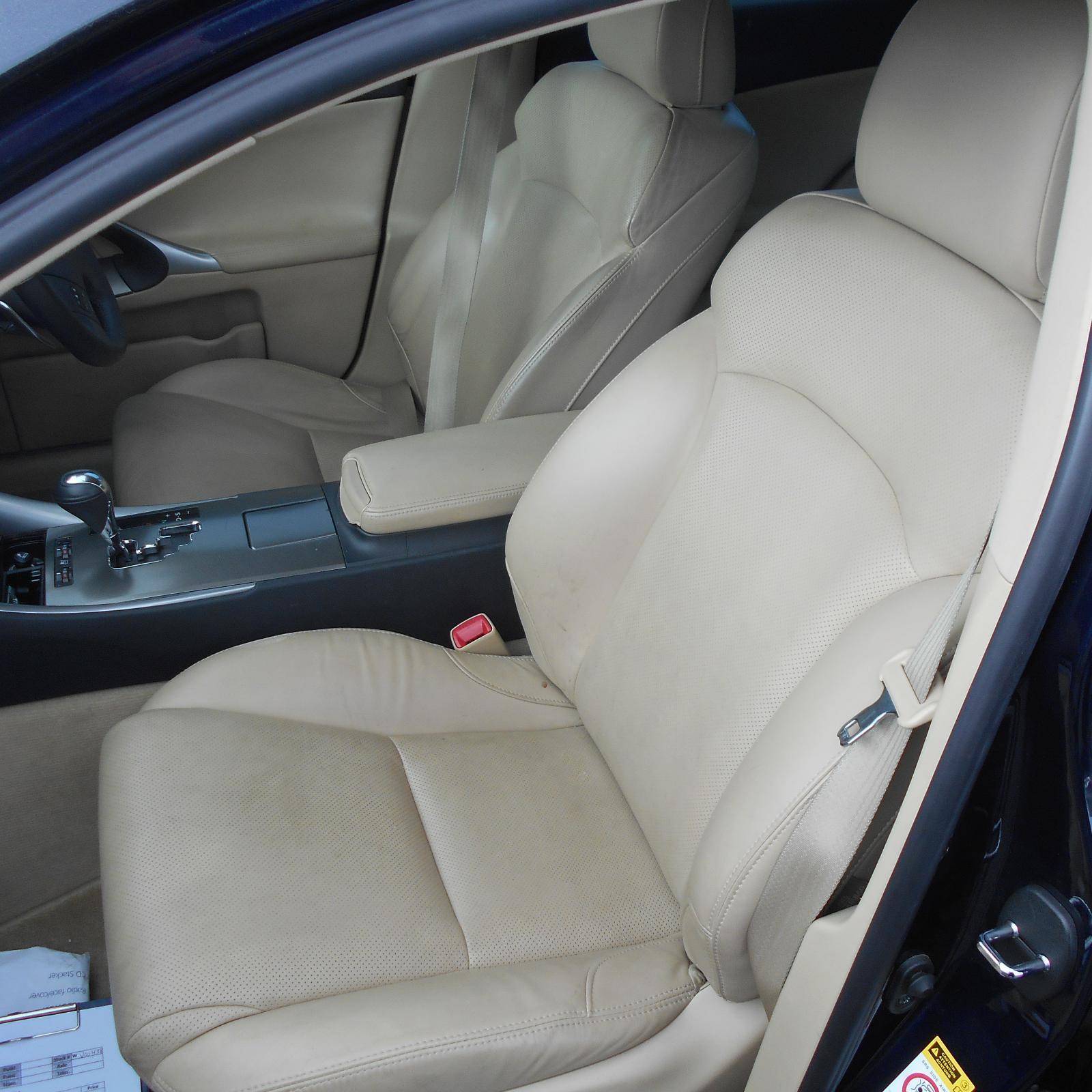 LEXUS IS250/IS250C, Front Seat, LH FRONT, GSE20R, IS250/IS350, LEATHER, BEIGE, PRESTIGE/X, 11/05-06/13