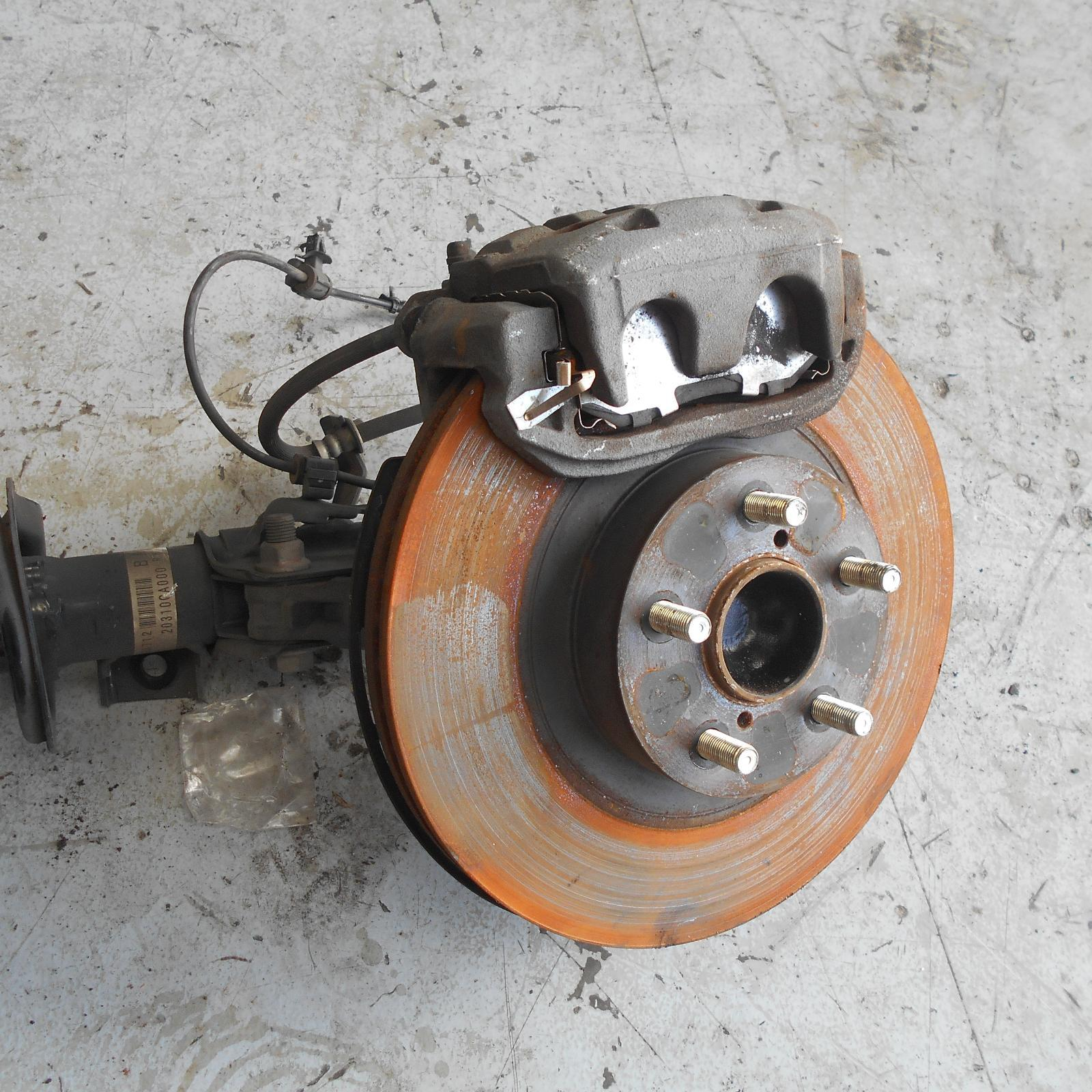 TOYOTA 86, Right Rear Hub Assembly, ZN6, GTS, 290mm Dia VENTED DISC, 06/12-