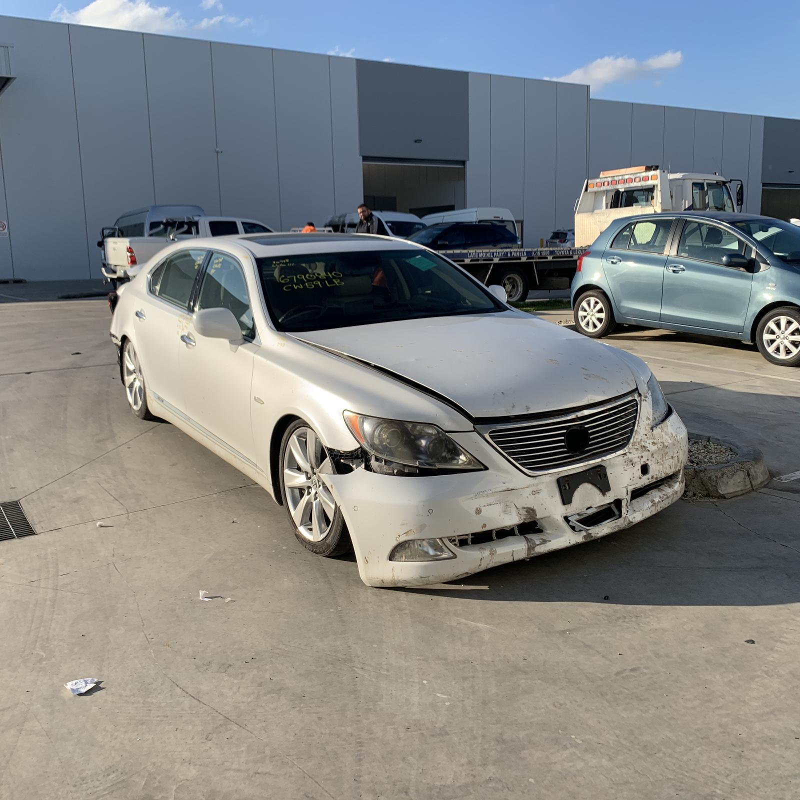 Lexus LS600HL UVF46R HYBRID 2UR-FSE 5.0L Engine Automatic RWD Transmission 04/07 - 12/17