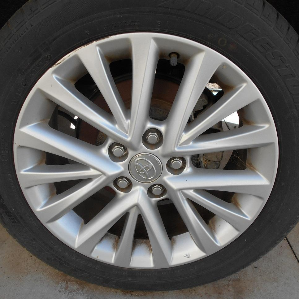 TOYOTA CAMRY, Wheel Mag, FACTORY, 17X7IN, ACV50, 15 SPOKE, ATARA SL, 05/15-10/17
