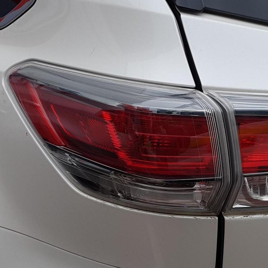 TOYOTA KLUGER, Left Taillight, GSU50/GSU55, 03/14-10/16