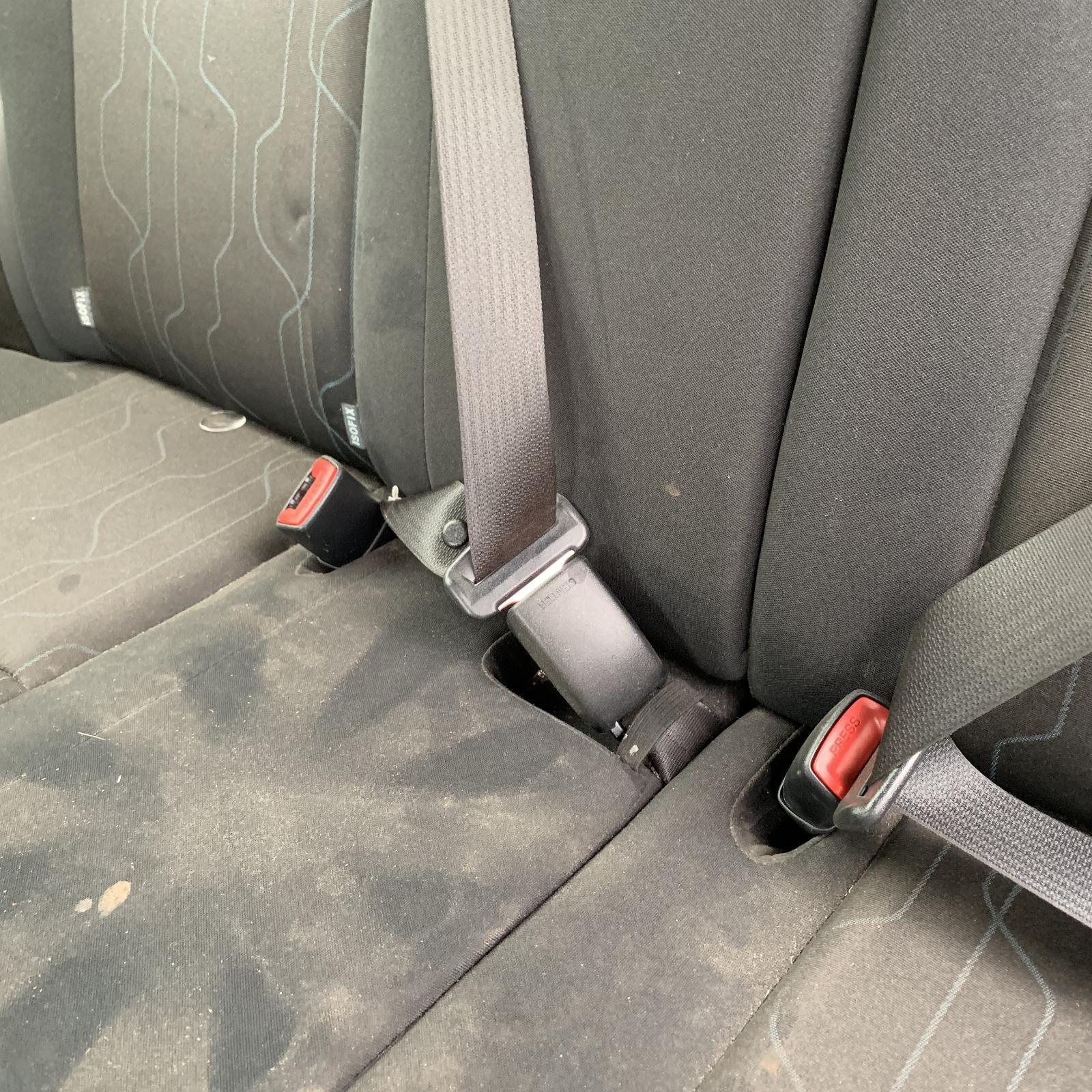 TOYOTA COROLLA, Seatbelt/Stalk, CENTRE REAR, SEAT BELT ONLY, ZRE152R, HATCH, 03/07-09/12