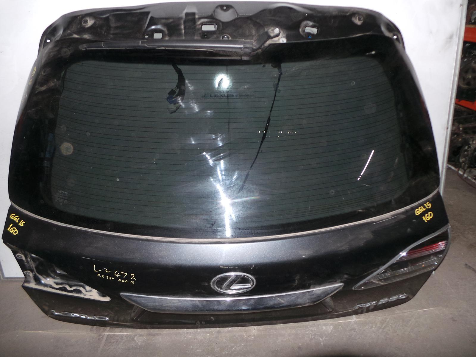 LEXUS RX SERIES, Bootlid/Tailgate, TAILGATE, GSU3/MHU3#, W/ POWER LIFTGATE TYPE, 03/06-02/09