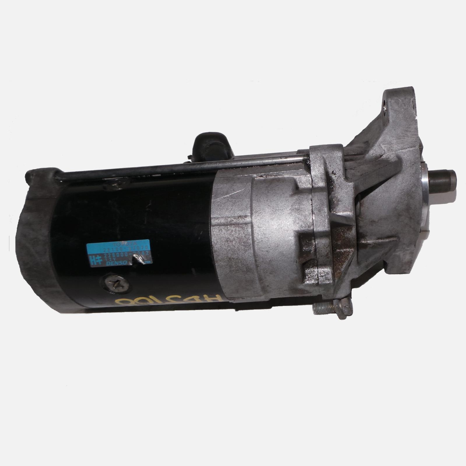TOYOTA LANDCRUISER, Starter, 78/80/100 SERIES, DIESEL, 4.2, 1HD-FT, TURBO, 01/95-10/07