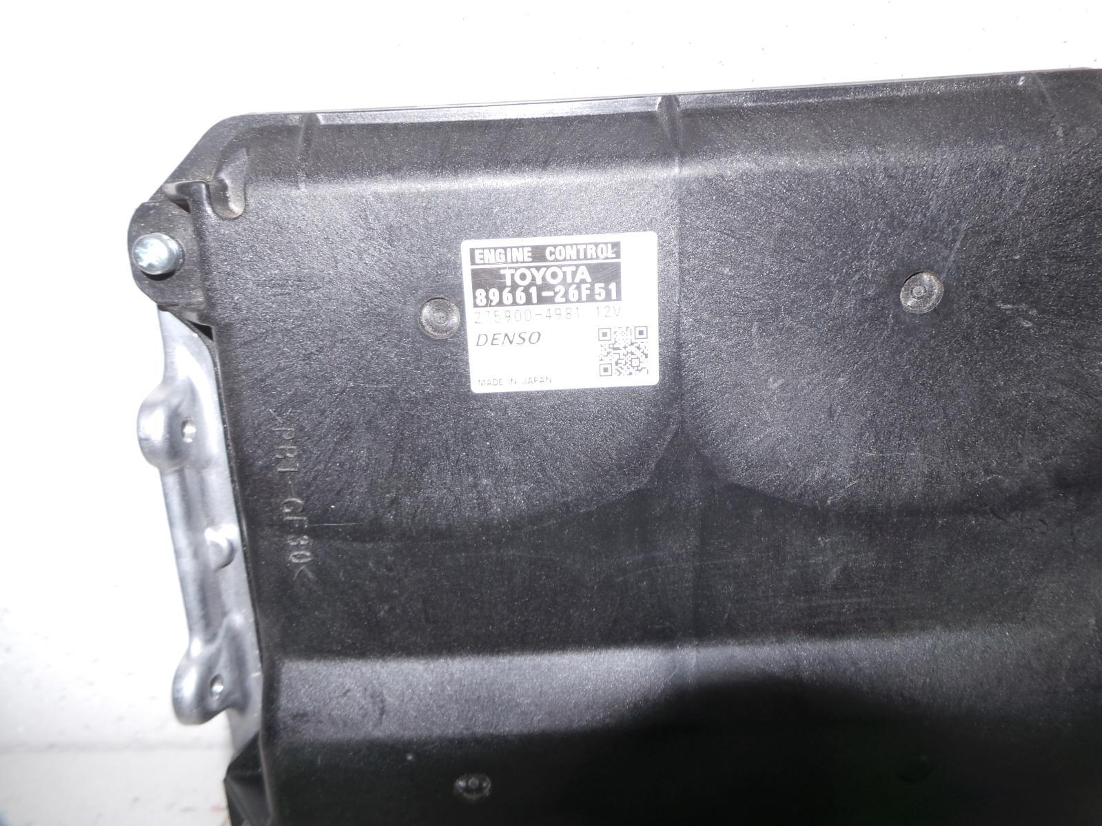 TOYOTA HIACE, Ecu, ENGINE ECU, 3.0, DIESEL, P/N 89661-26F51, ECU ONLY, KDH, 09/06-