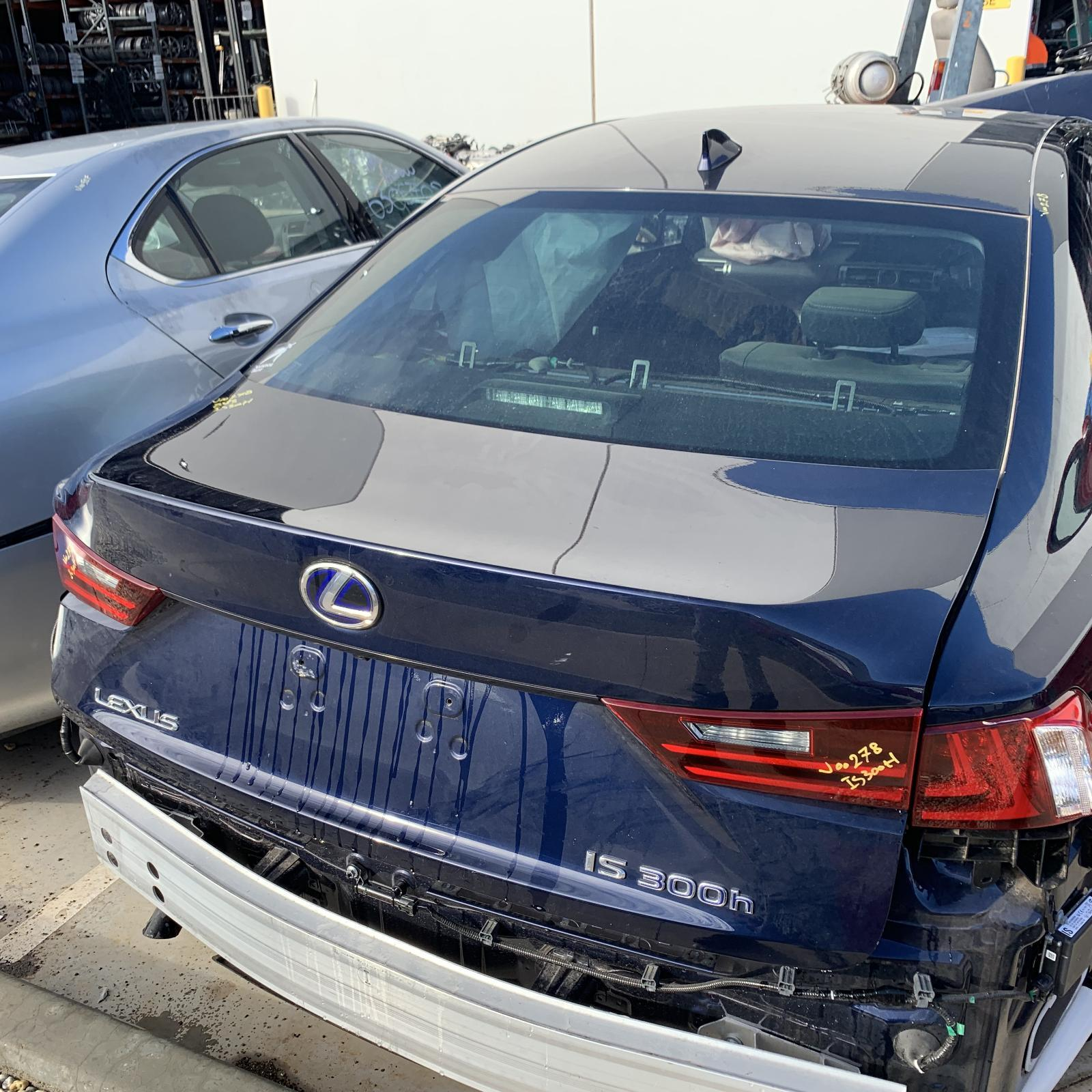 LEXUS IS, Bootlid/Tailgate, BOOTLID, XE30, IS200t/IS250/IS300h/IS350, 04/13-