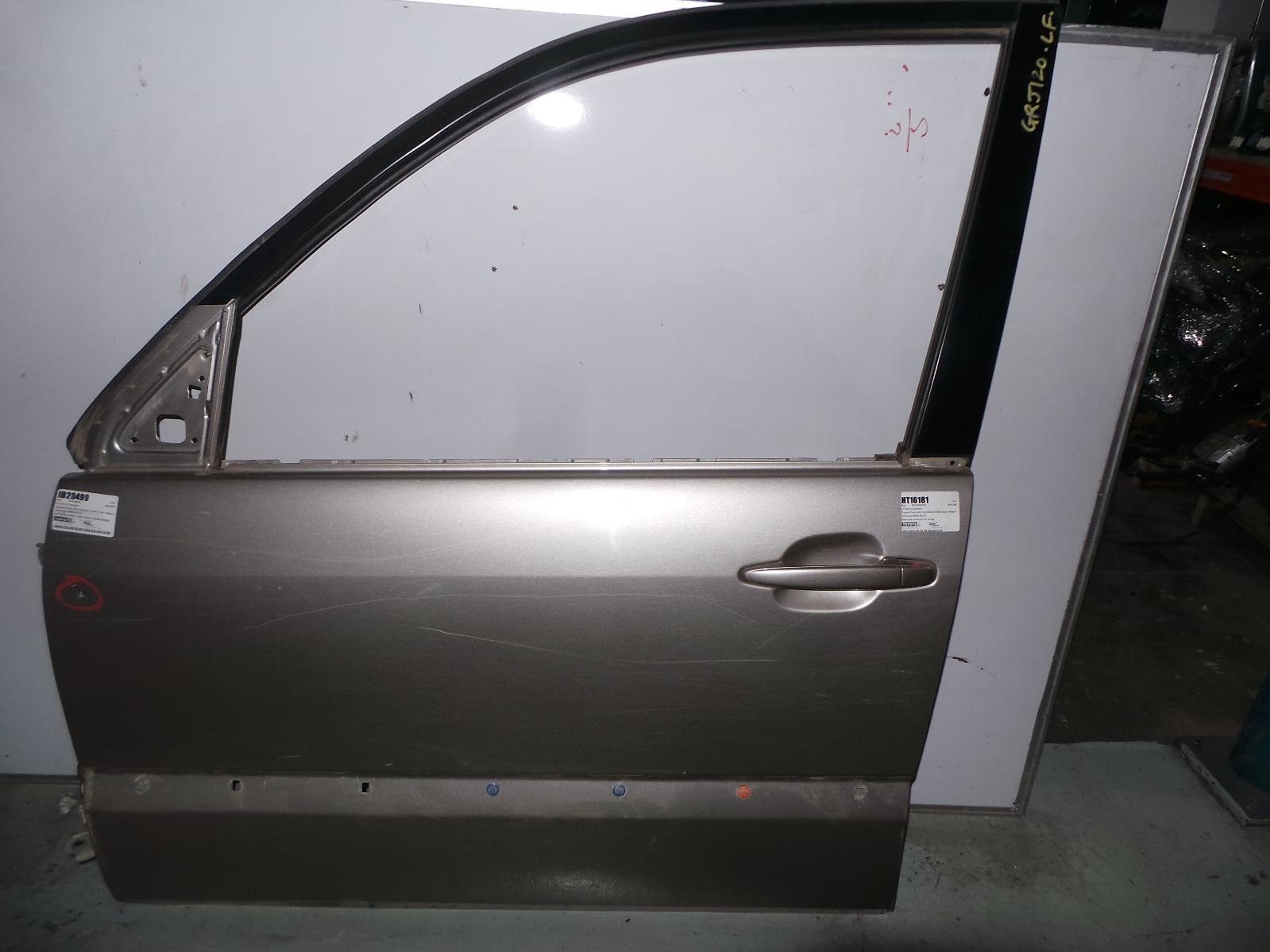 TOYOTA PRADO, Left Front Door, 120 SERIES, W/ FLARE TYPE, 02/03-10/09