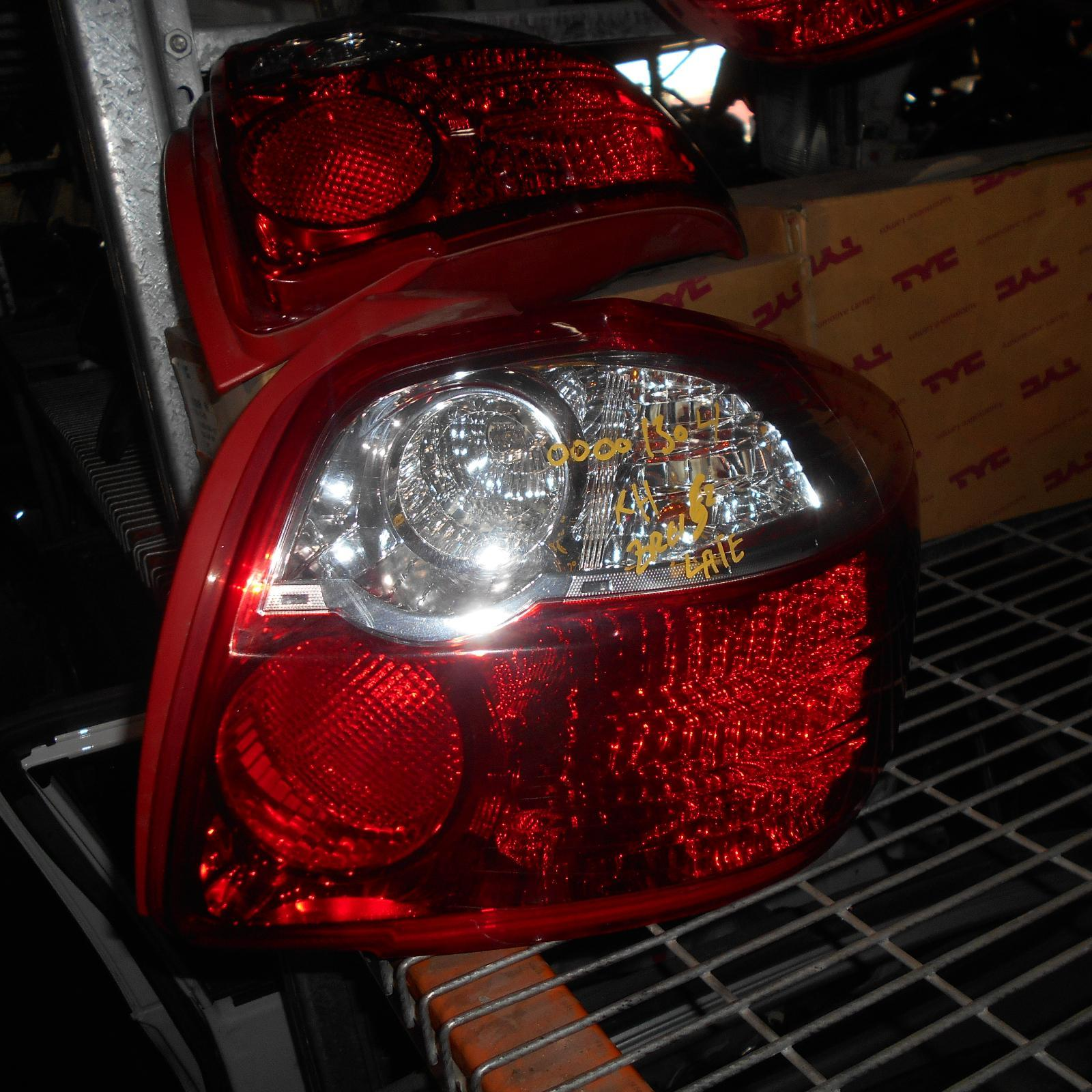 TOYOTA COROLLA, Right Taillight, ZRE152R, HATCH, LENS# 12549, 11/09-09/12