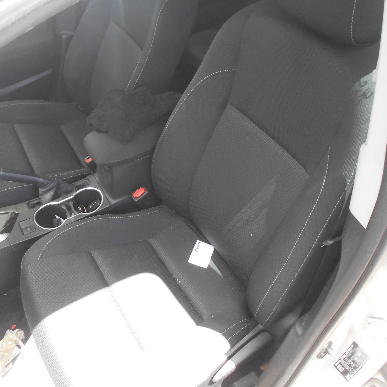 TOYOTA COROLLA, Front Seat, LH FRONT, ZRE172R, SEDAN, CLOTH, ASCENT/SX, 08/12-