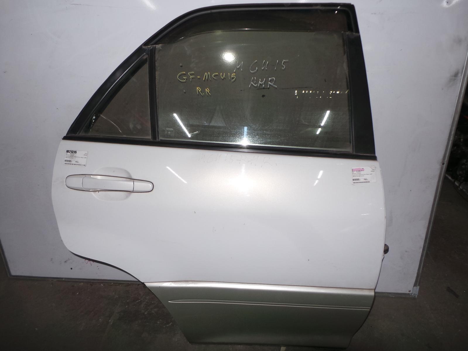 LEXUS RX300, RIGHT_REAR_DOOR_SLIDING, HARRIER IMPORT 97-02