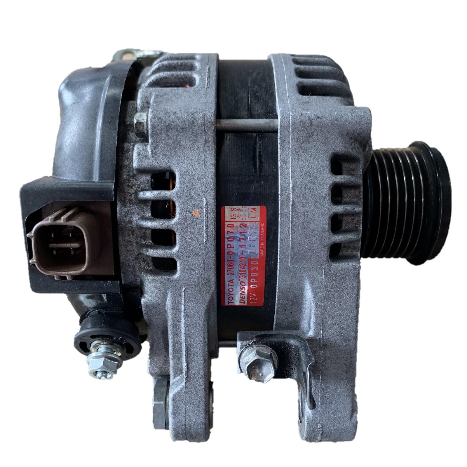 TOYOTA AURION, Alternator, PETROL, 3.5, 2GR-FE, GSV50R, 04/12-08/17