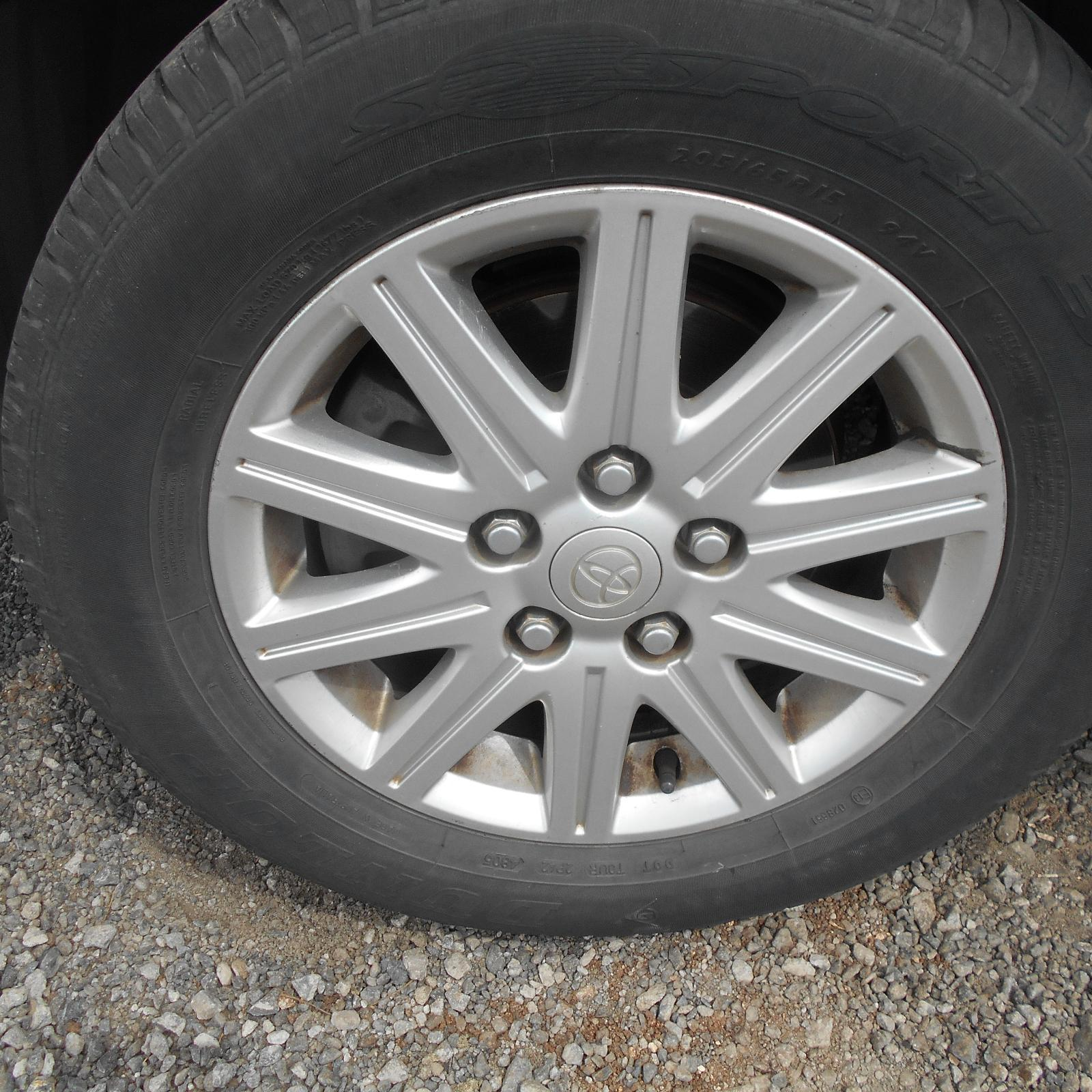 TOYOTA CAMRY, Wheel Mag, FACTORY, 15X6.0IN, SK36, 10 SPOKE, 08/02-05/06