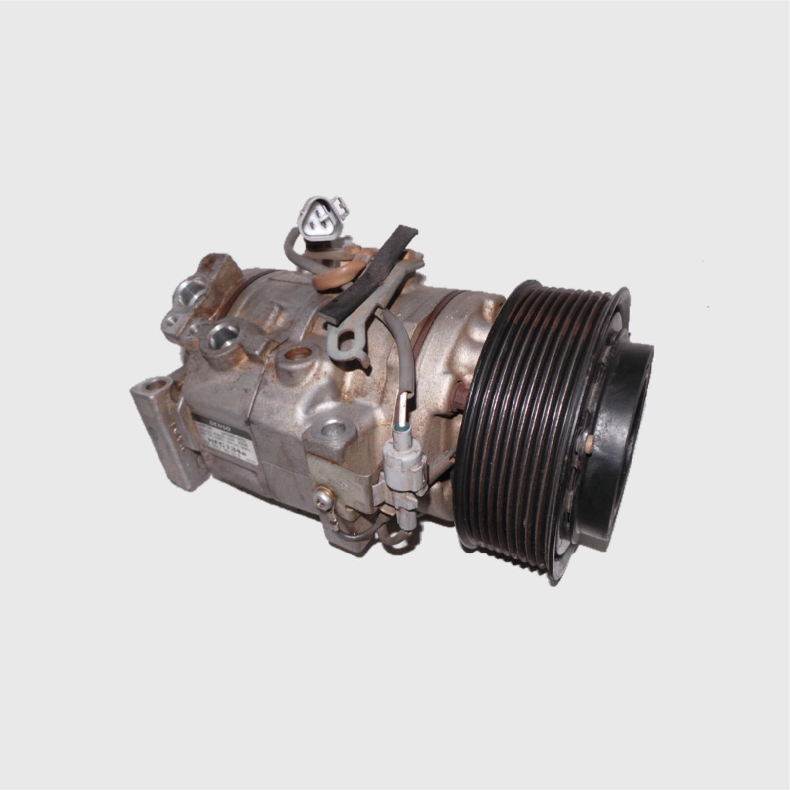 TOYOTA LANDCRUISER, A/C Compressor, 200 SERIES, 4.5, 1VD-FTV, DIESEL, TWIN TURBO, 11/07-