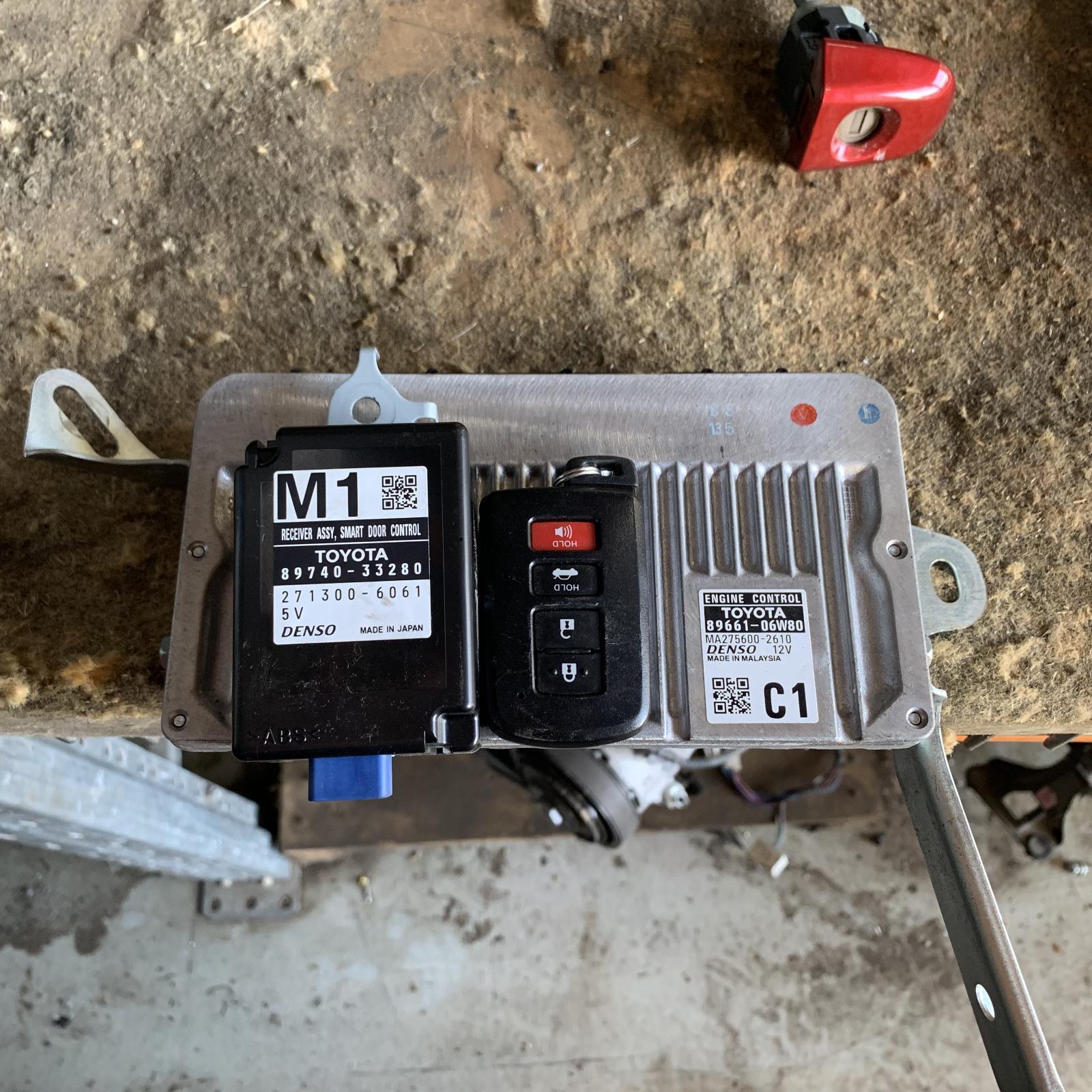 TOYOTA AURION, Ecu, ENGINE ECU, ECU ONLY, GSV50R, 04/12-08/17