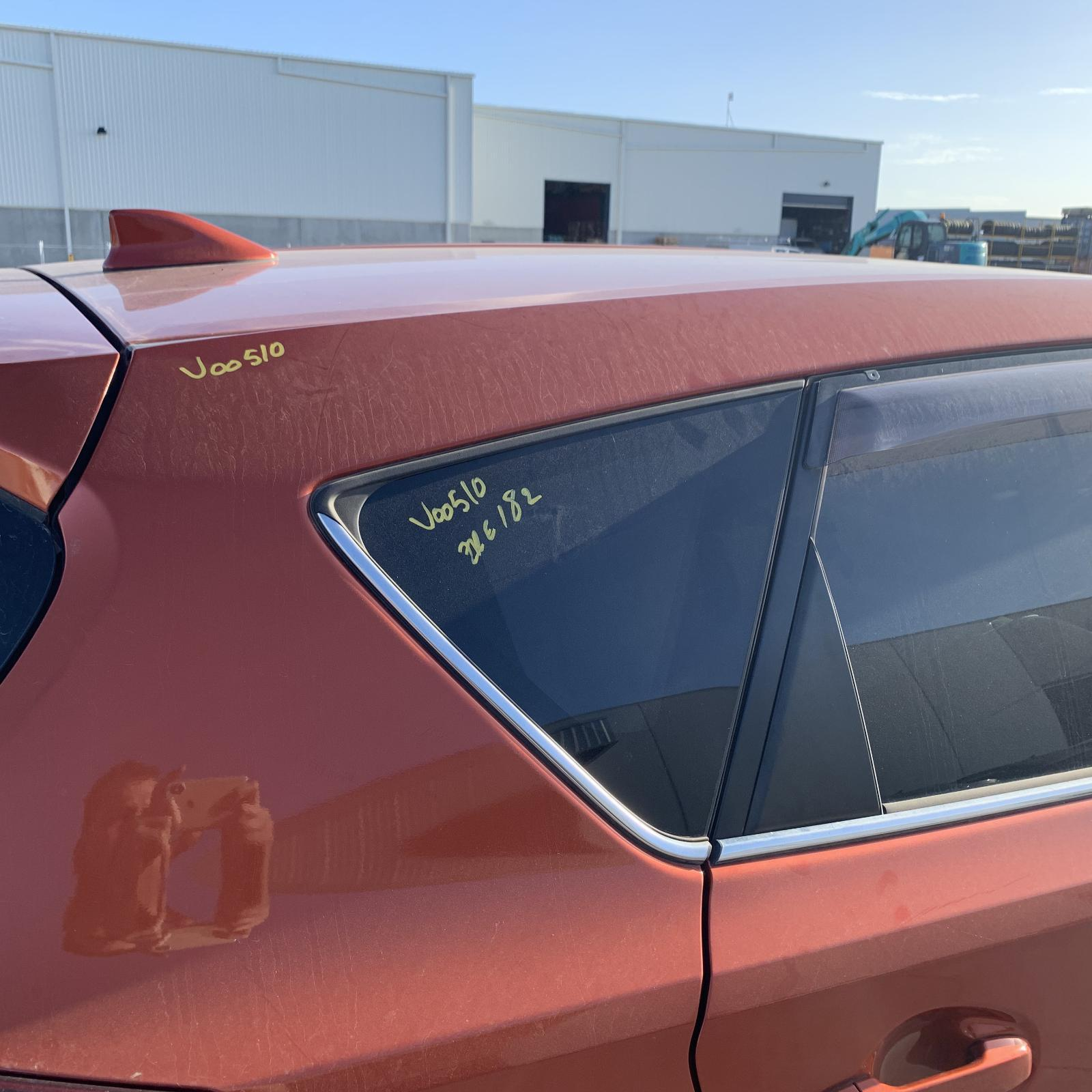 TOYOTA COROLLA, Right Rear Side Glass, ZRE182R, 10/12-