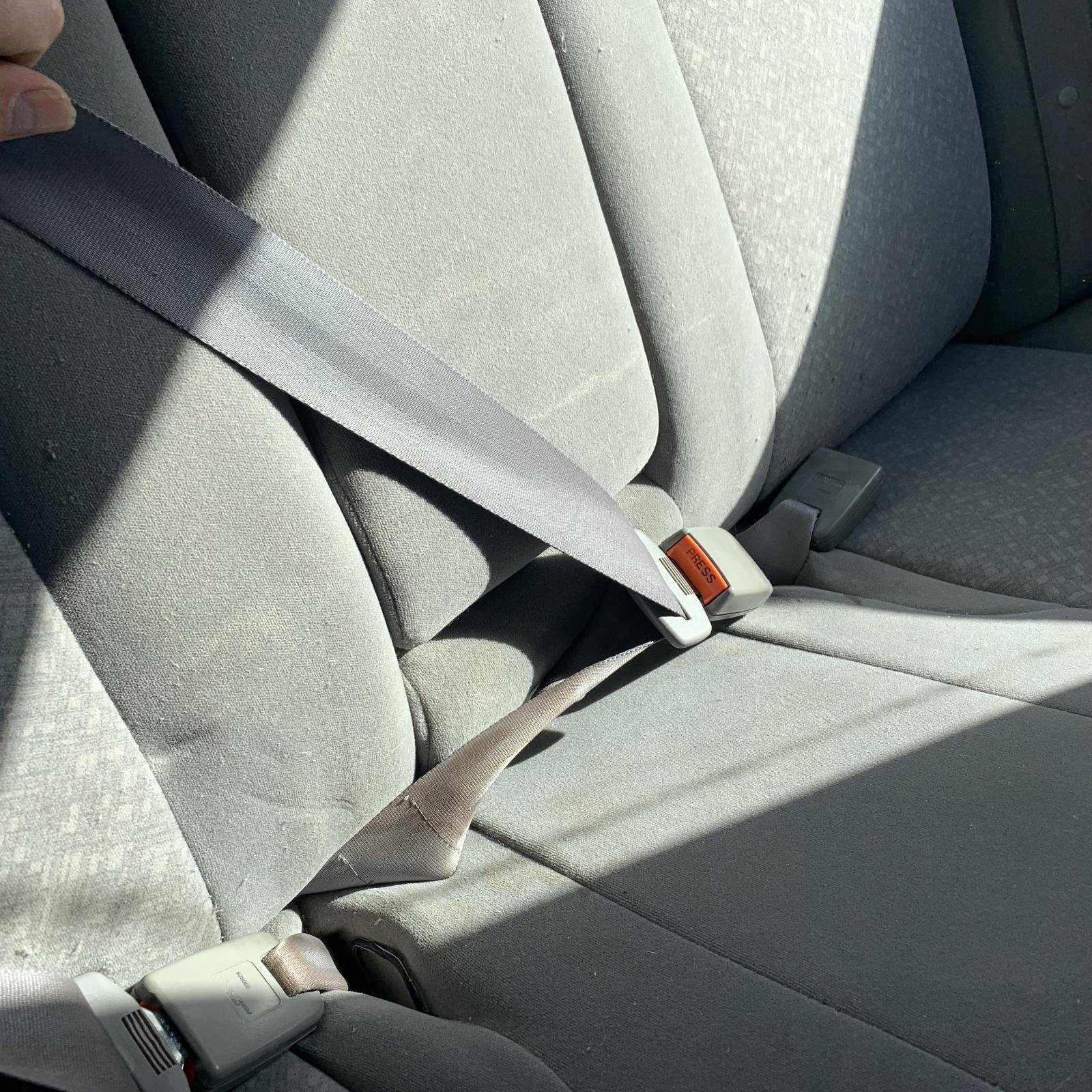 TOYOTA CAMRY, Seatbelt/Stalk, CENTRE REAR, SEAT BELT ONLY, SK36, 08/02-05/06
