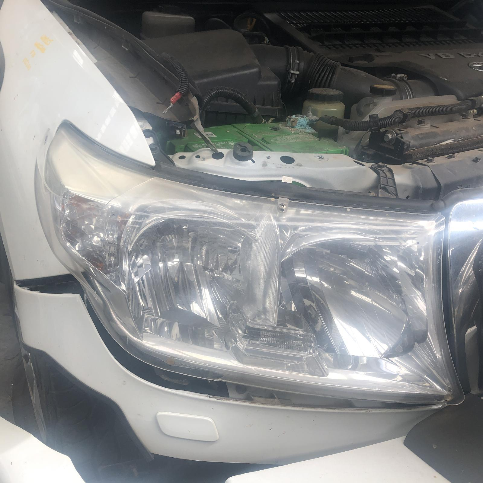 TOYOTA LANDCRUISER, Right Headlamp, 200 SERIES, HALOGEN TYPE, 11/07-07/15