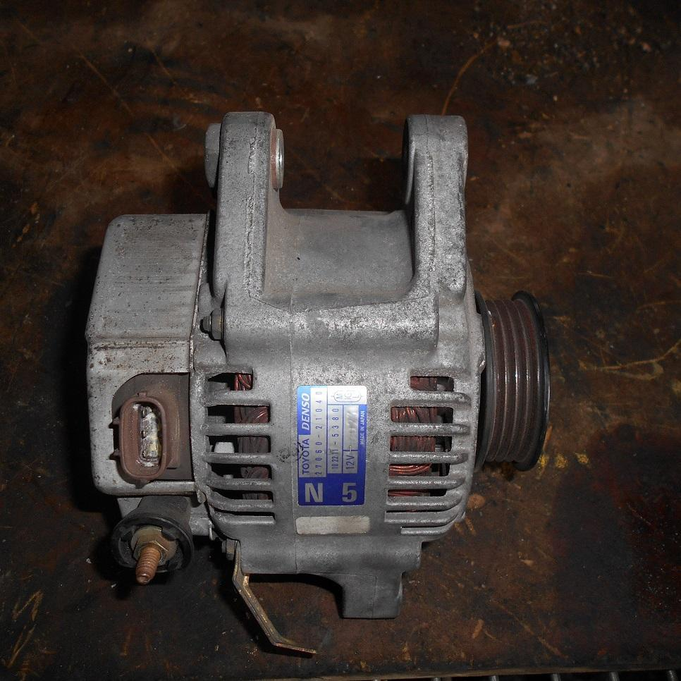 TOYOTA ECHO, Alternator, 1.3, 2NZ-FE, 10/99-09/05