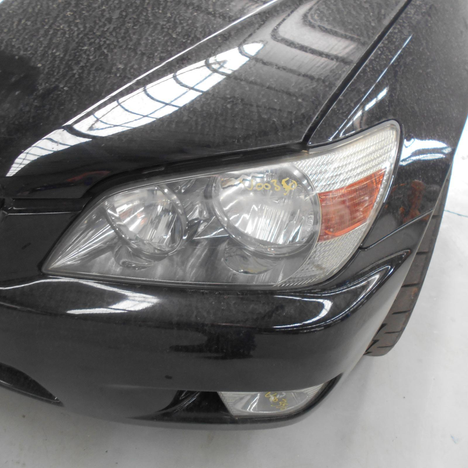 LEXUS IS200/IS300, Left Headlamp, HALOGEN, KOITO LENS# 53-1, MANUAL ADJUSTER, 01/98-07/05