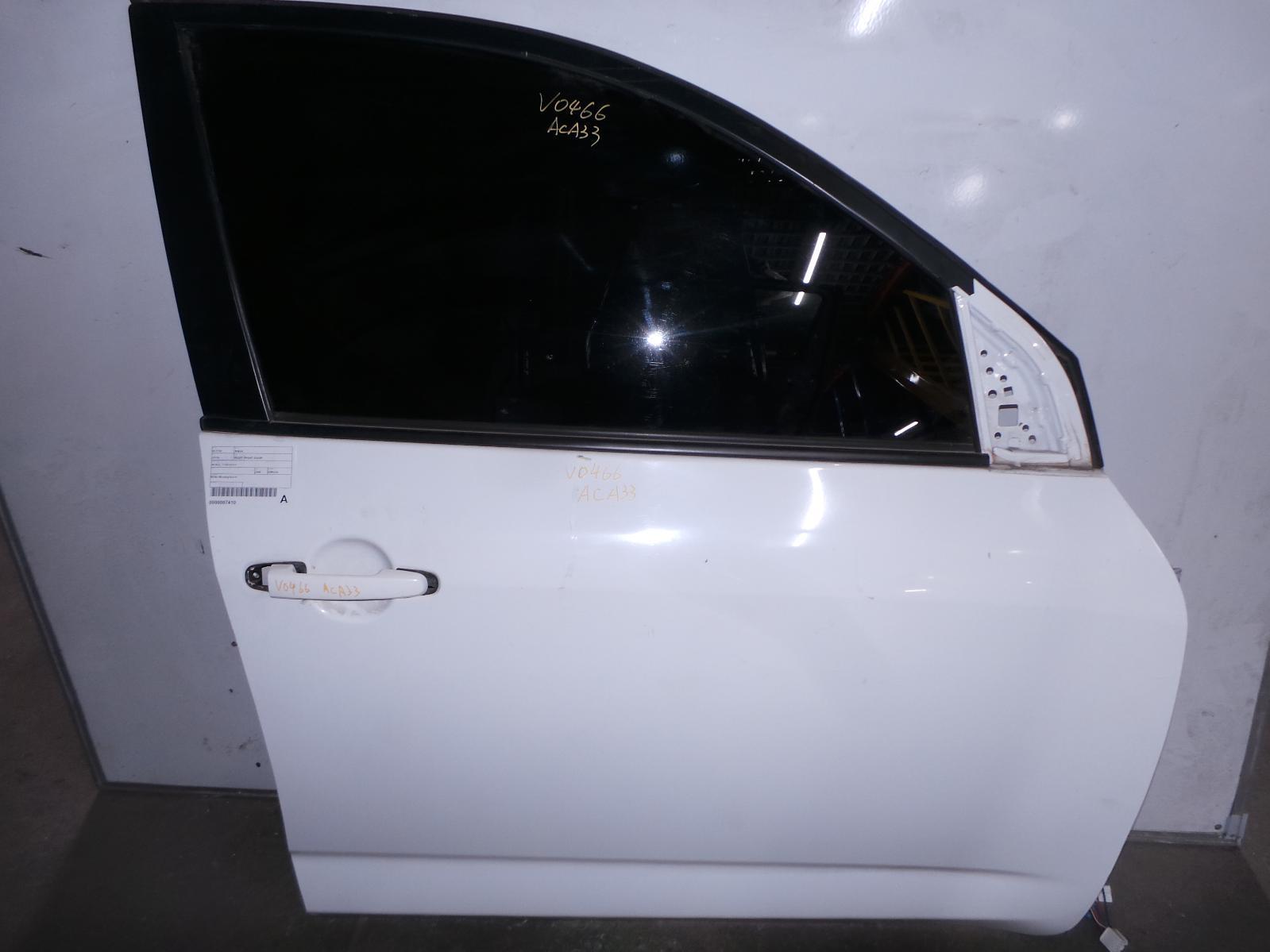 TOYOTA RAV4, Right Front Door, ACA33, 11/05-12/12