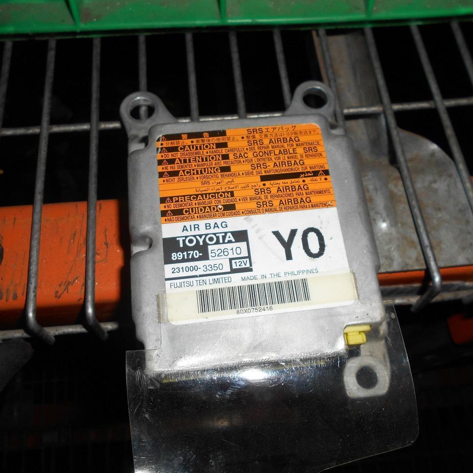 TOYOTA YARIS, Airbag Module/Sensor, MODULE, NCP9#, P/N 8917052610, 10/05-09/08