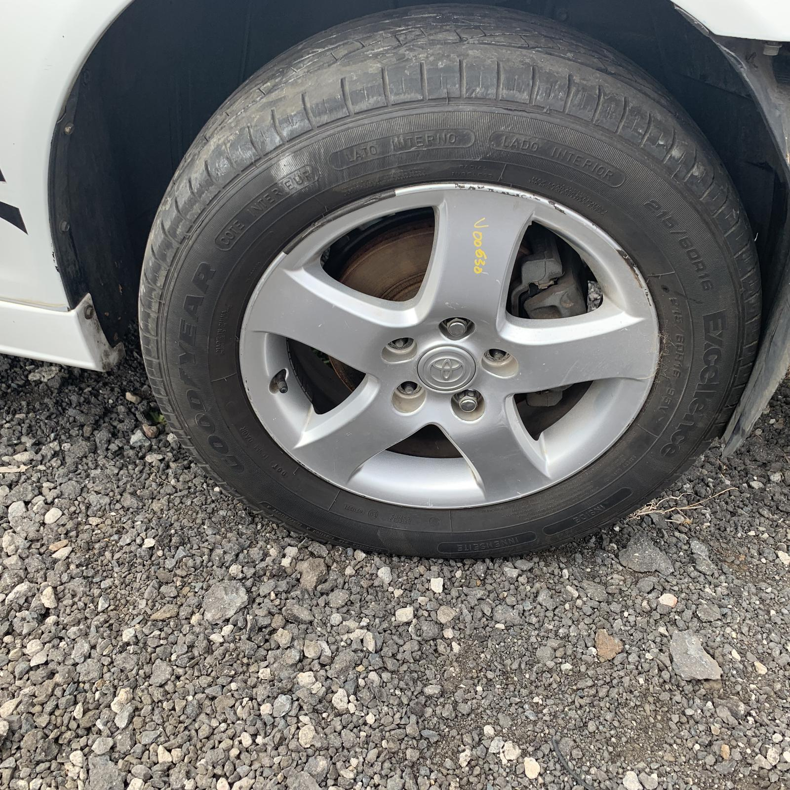 TOYOTA CAMRY, Wheel Mag, FACTORY, 16X6.0IN, SK36, 5 SPOKE, 08/02-05/06
