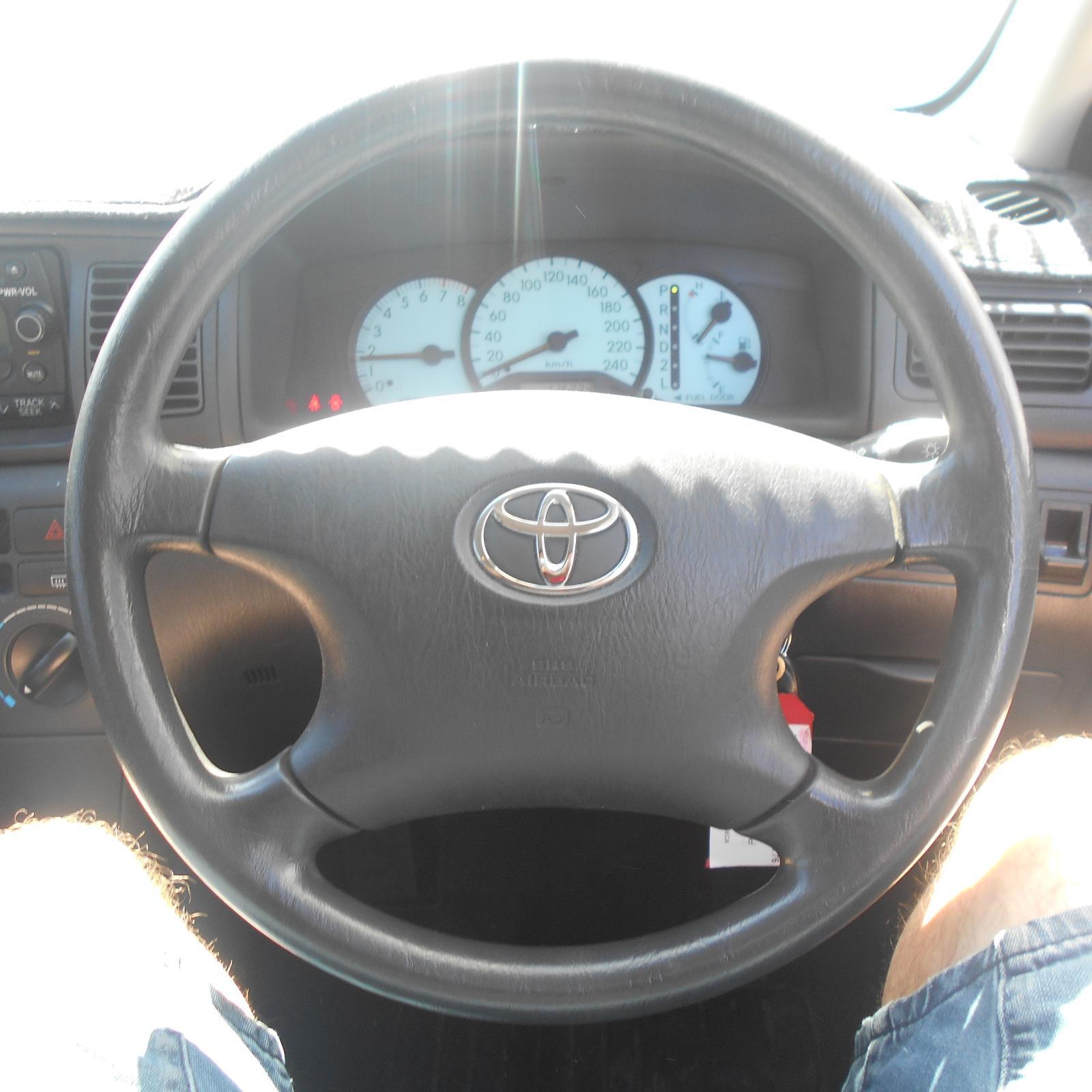 TOYOTA COROLLA, Steering Wheel, ZZE122, 4 SPOKE TYPE, 12/01-06/07