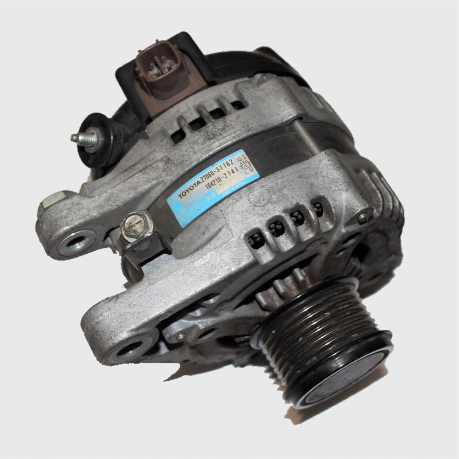 TOYOTA KLUGER, Alternator, 3.5 V6, 2GR-FE, GSU40-GSU45, 08/07-02/14