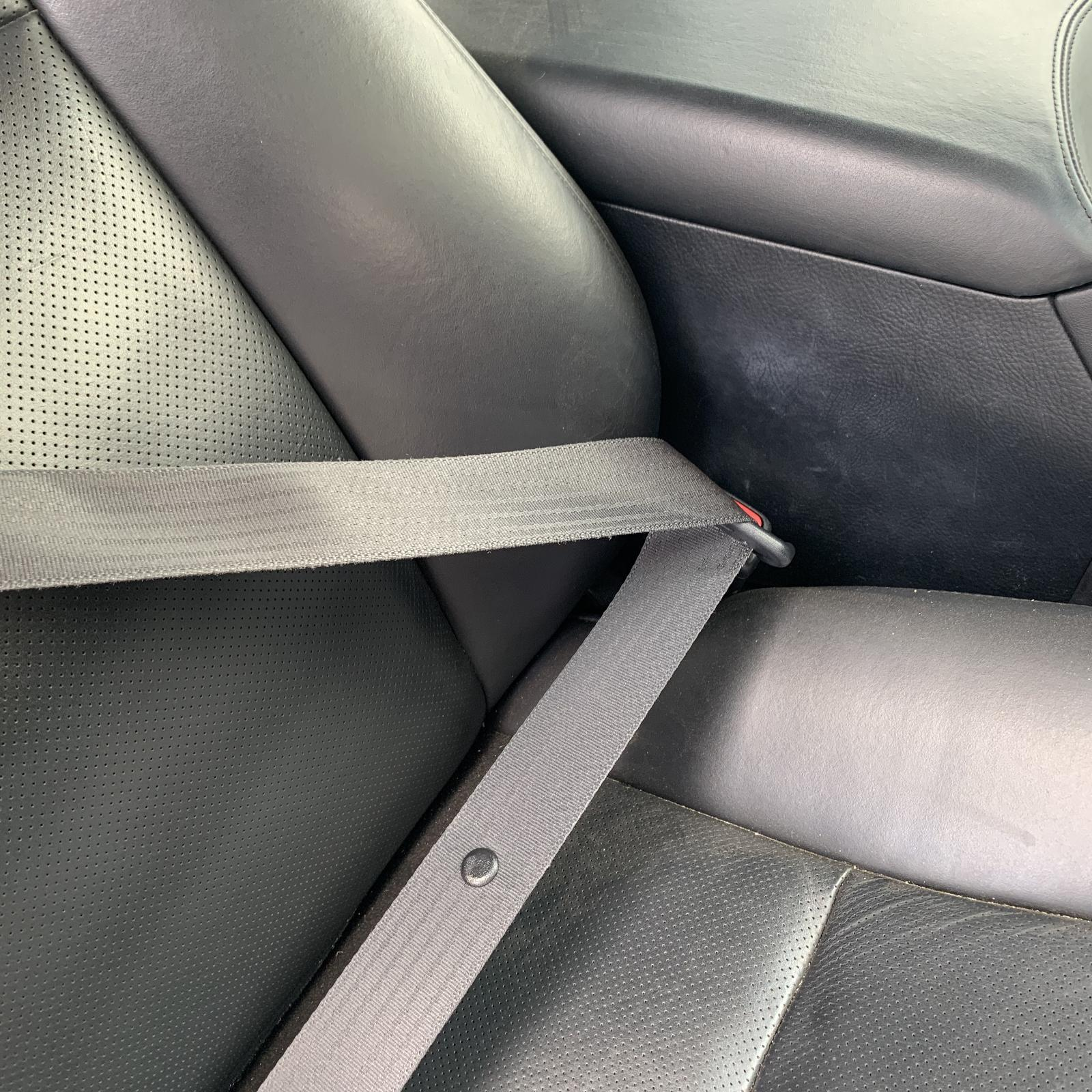 LEXUS LS460, Seatbelt/Stalk, RH FRONT, SEAT BELT ONLY, BLACK, 40 SERIES, 08/06-11/09