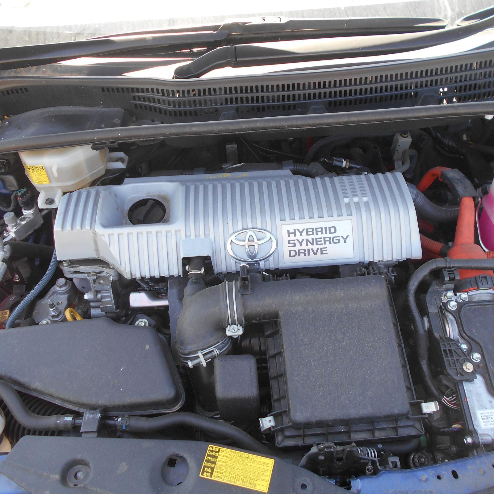 TOYOTA PRIUS, Engine, PETROL, 1.8, 2ZR-FXE, ZVW30R, 07/09-12/15
