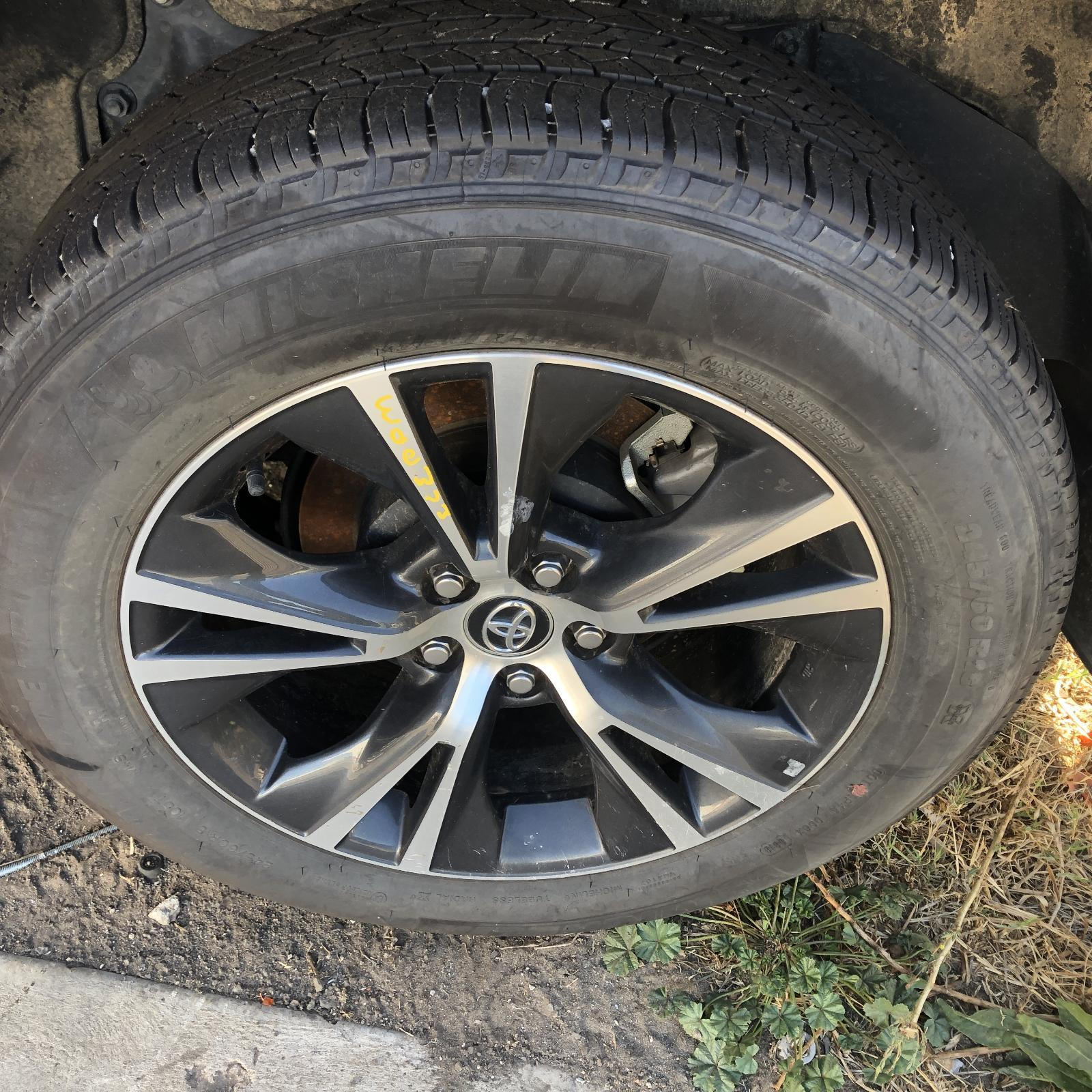 TOYOTA KLUGER, Wheel Mag, FACTORY, 18X7.5IN, GXL, GSU50/GSU55, 11/16-