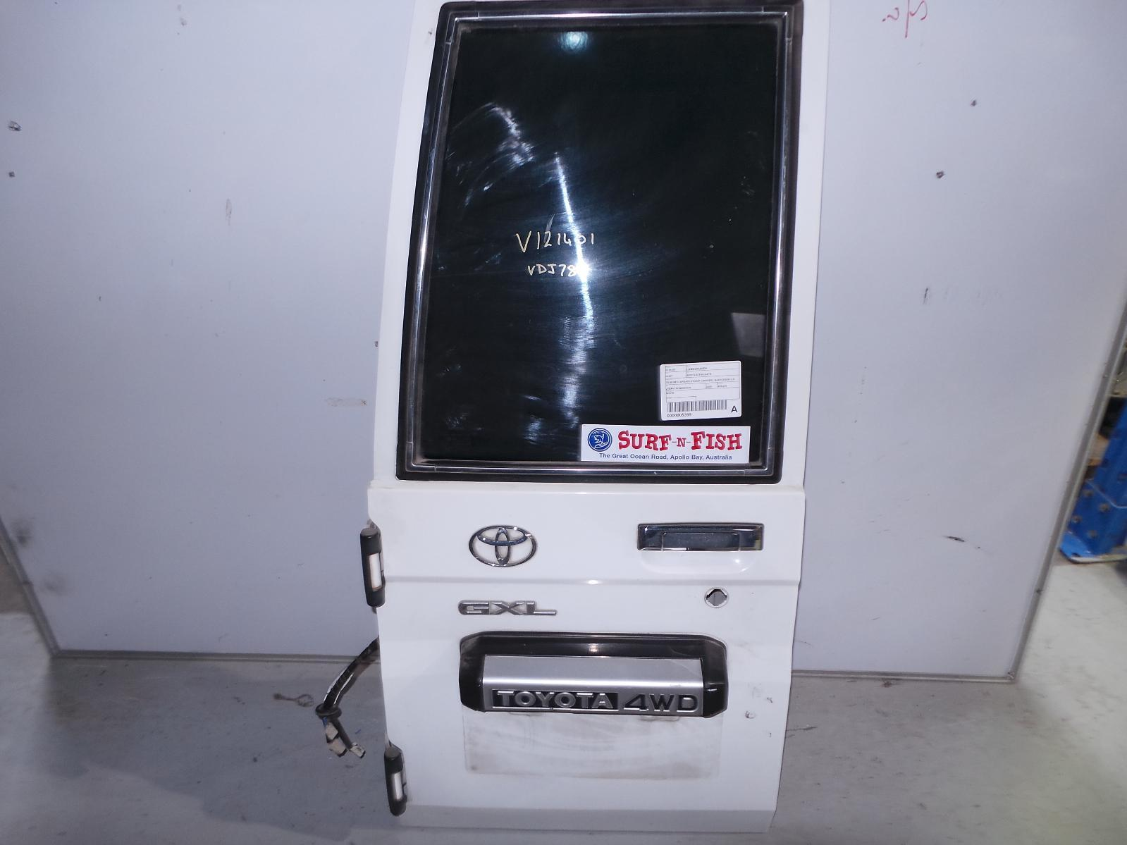 TOYOTA LANDCRUISER, Bootlid/Tailgate, 78 SERIES, BARN DOOR (LH SIDE), 10/99-10/07