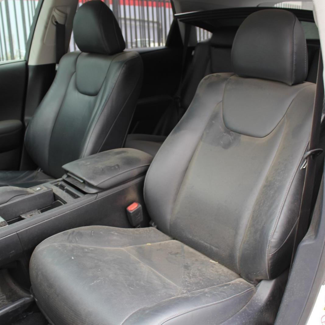 LEXUS RX350, Front Seat, RH FRONT, GGL1#, LEATHER, BLACK, 12/08-09/15