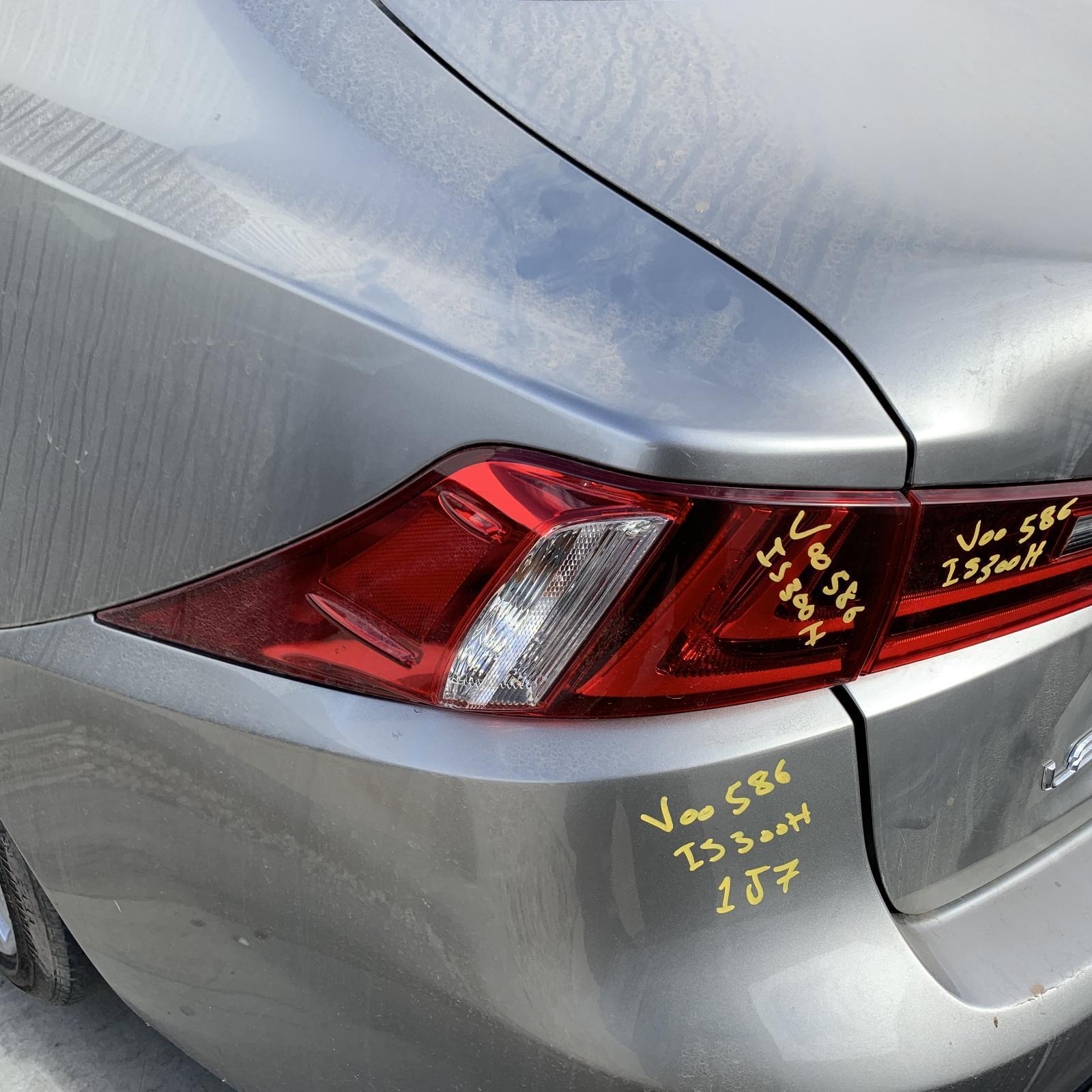 LEXUS IS, Left Taillight, IS200t/IS250/IS300H/IS350, XE30, 04/13-