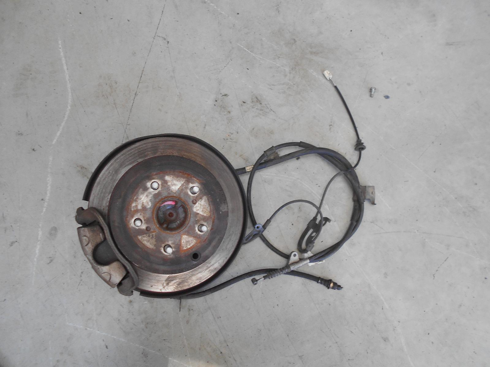 TOYOTA CAMRY, Left Rear Hub Assembly, SK36, ABS TYPE, 08/02-05/06