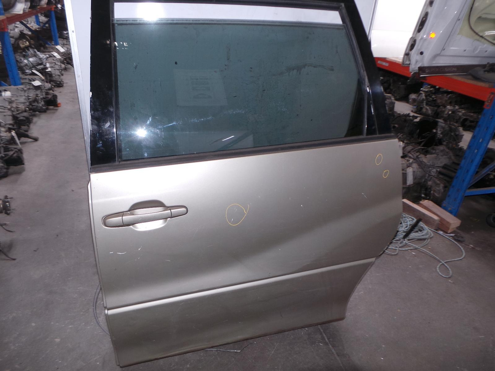 TOYOTA TARAGO, Left Rear Door/Sliding, ACR30, SLIDING (AUST TYPE), 06/00-02/06
