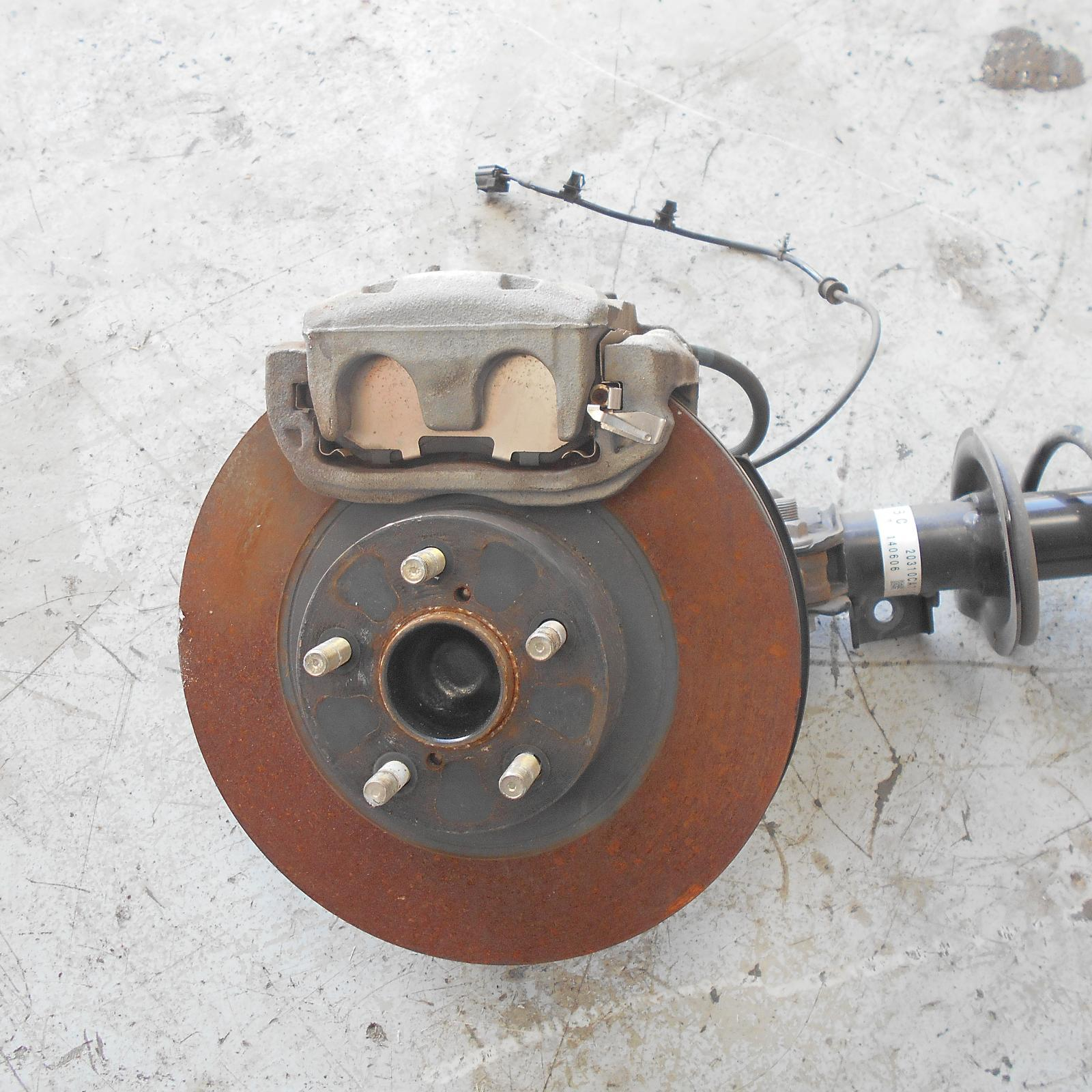 TOYOTA 86, Left Rear Hub Assembly, ZN6, GTS, 290mm Dia VENTED DISC, 06/12-