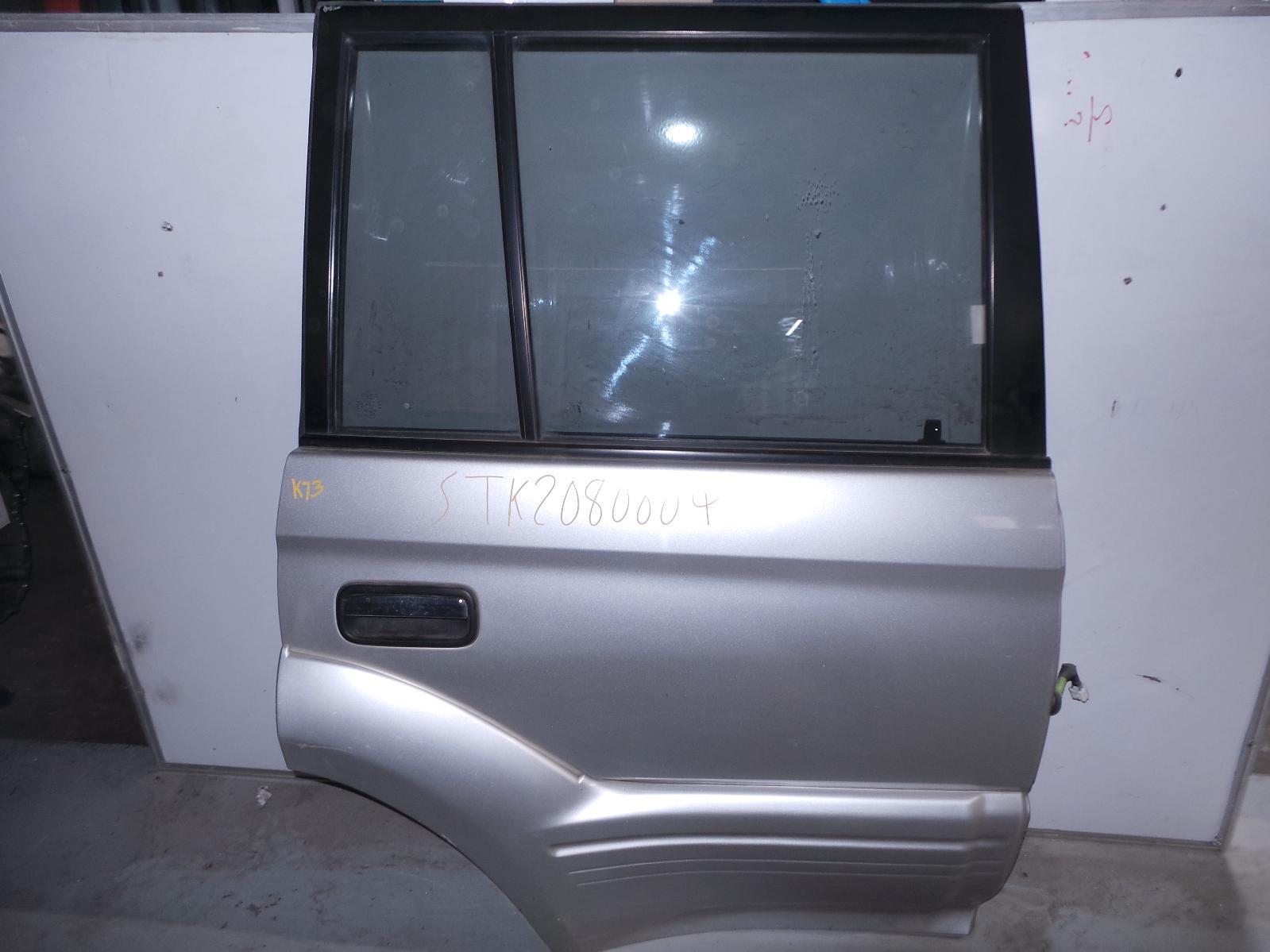 TOYOTA PRADO, RIGHT_REAR_DOOR_SLIDING, 95 SERIES, W/ MOULD, 07/96-01/03