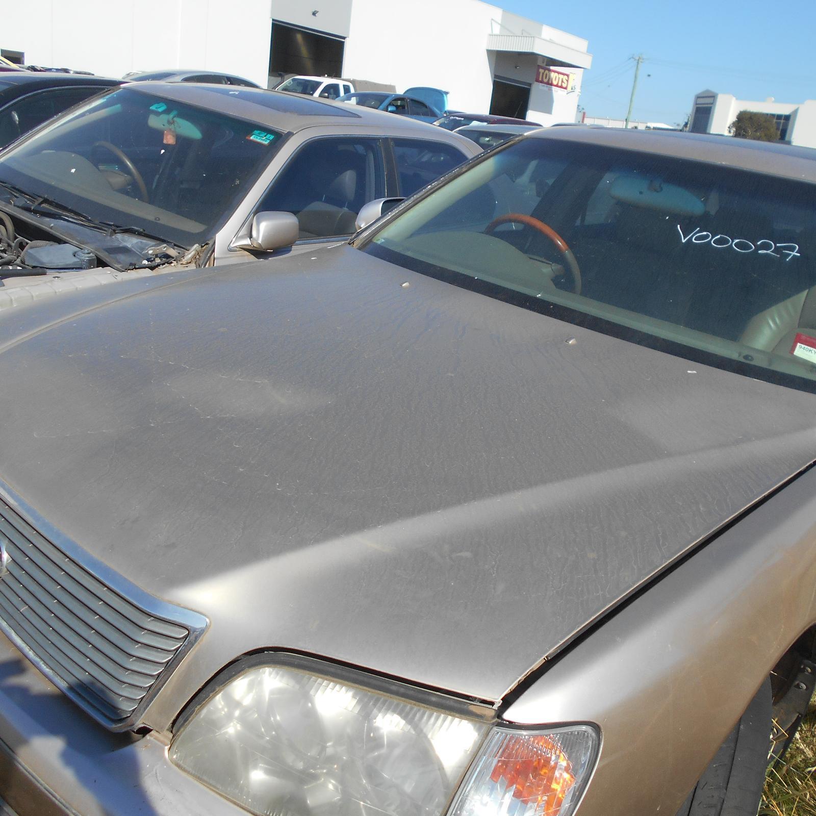 LEXUS LS400, Bonnet, 12/97-11/00