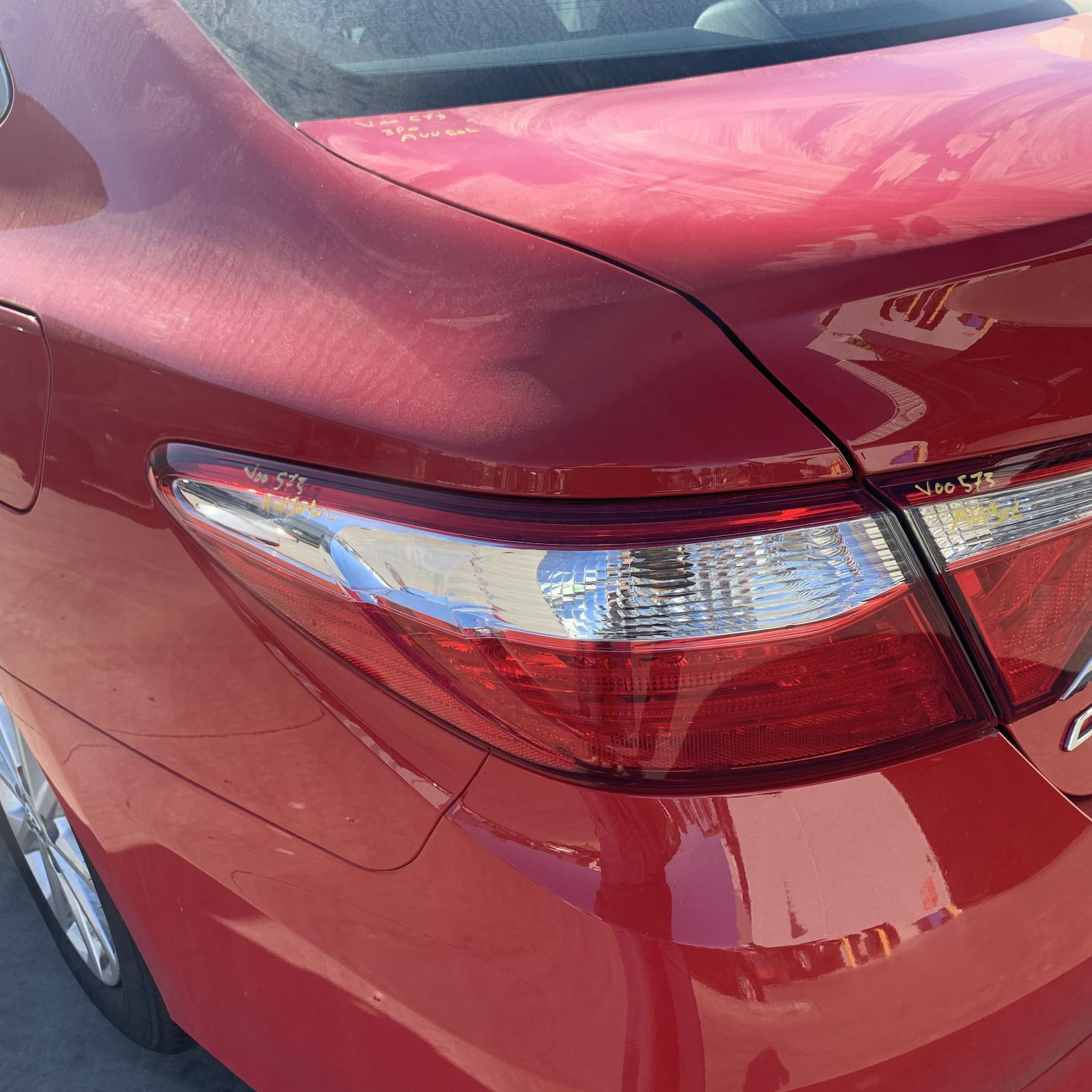 TOYOTA CAMRY, Left Taillight, ACV50, 05/15-10/17