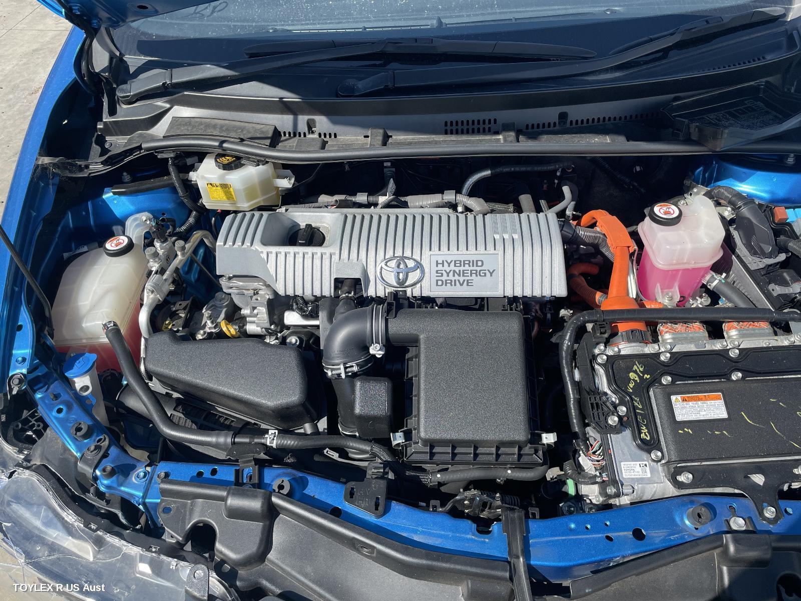 TOYOTA COROLLA, Engine, PETROL, 1.8, 2ZR-FXE, HYBRID, ZWE186R, 06/16-06/18